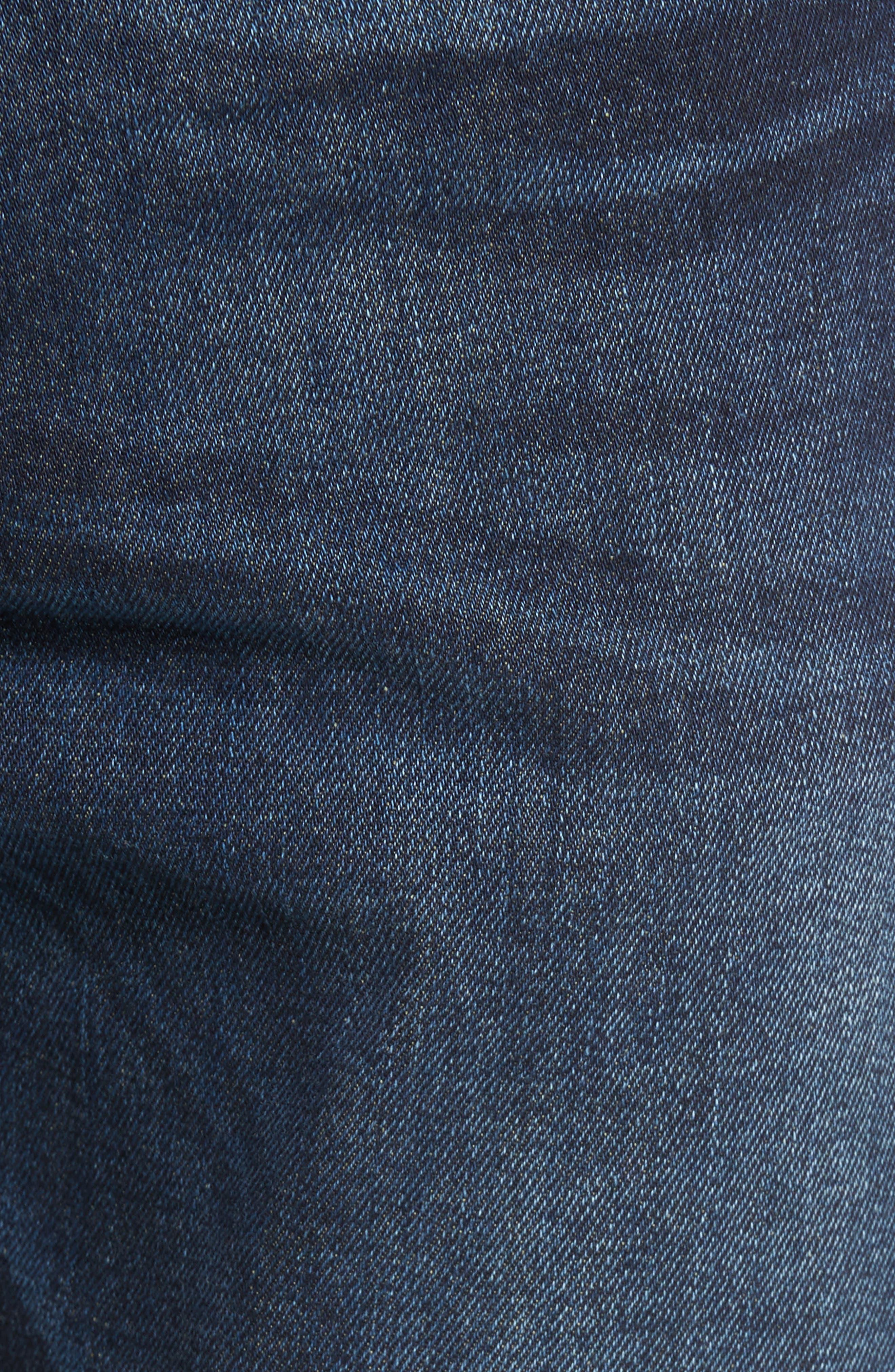 Buster Slim Straight Leg Jeans,                             Alternate thumbnail 4, color,                             Denim