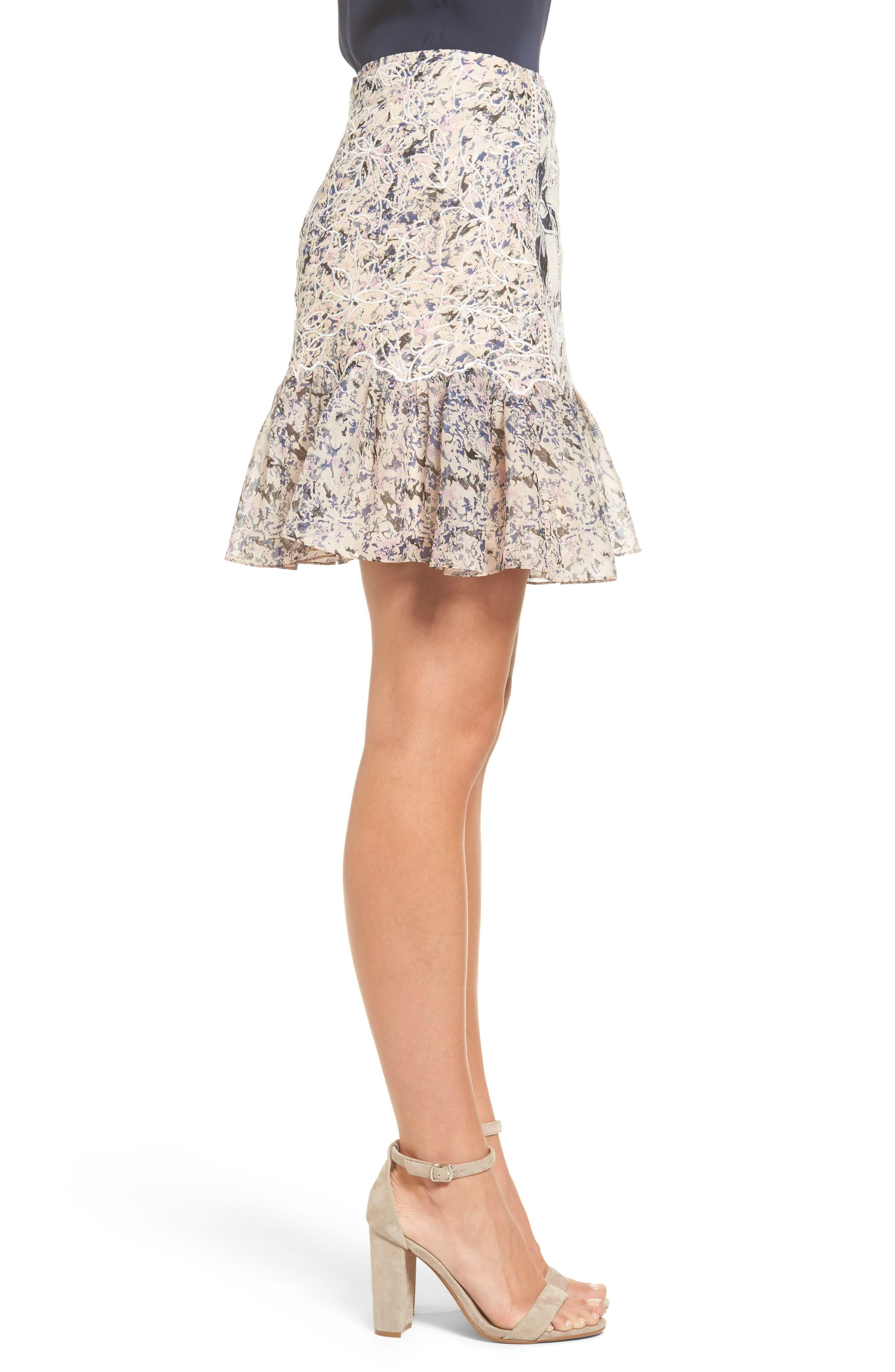 Alternate Image 3  - Kobi Halperin Tegan Floral Fit & Flare Skirt