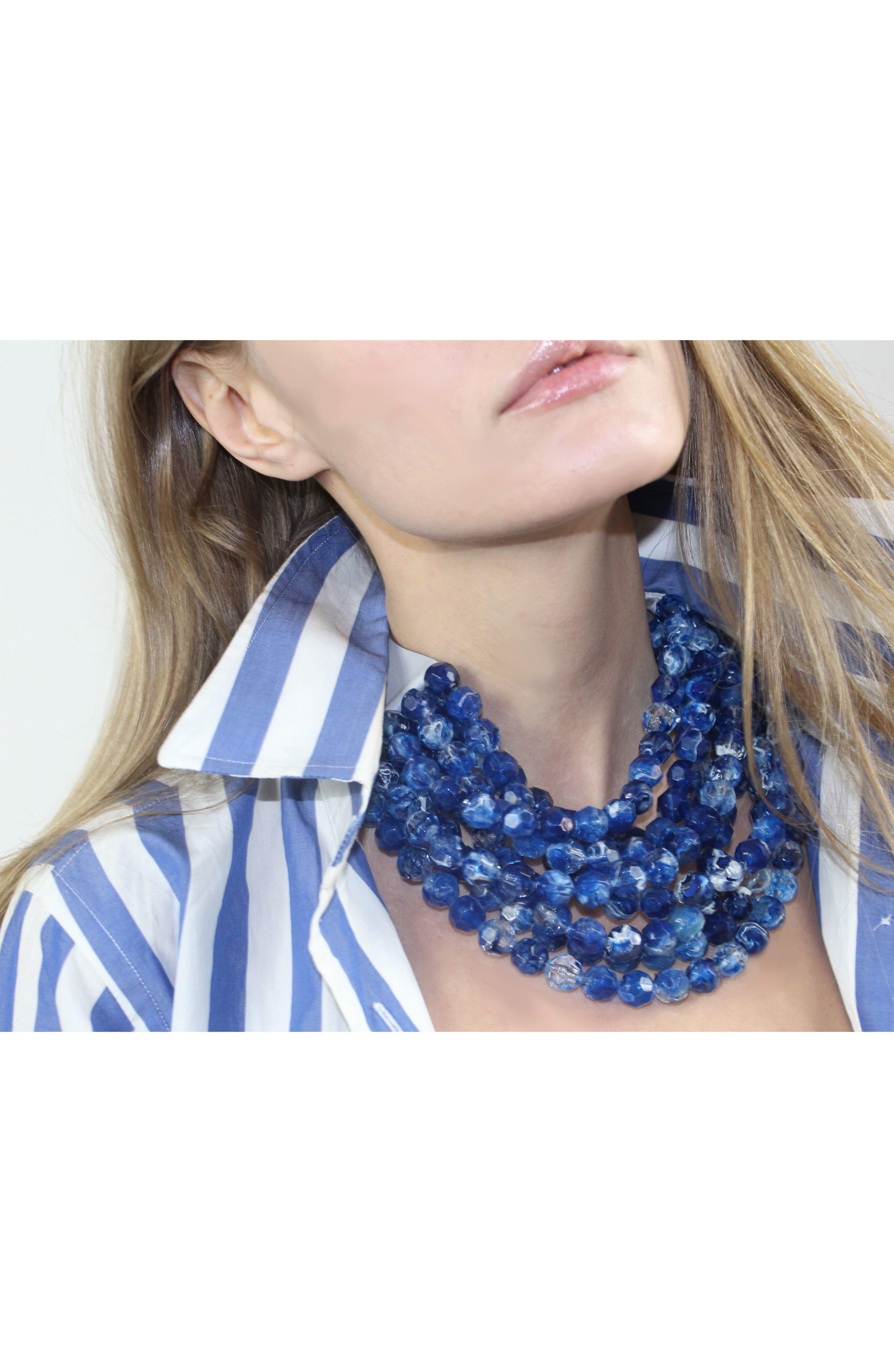 Alternate Image 6  - Fairchild Baldwin Bella Beaded Collar Necklace