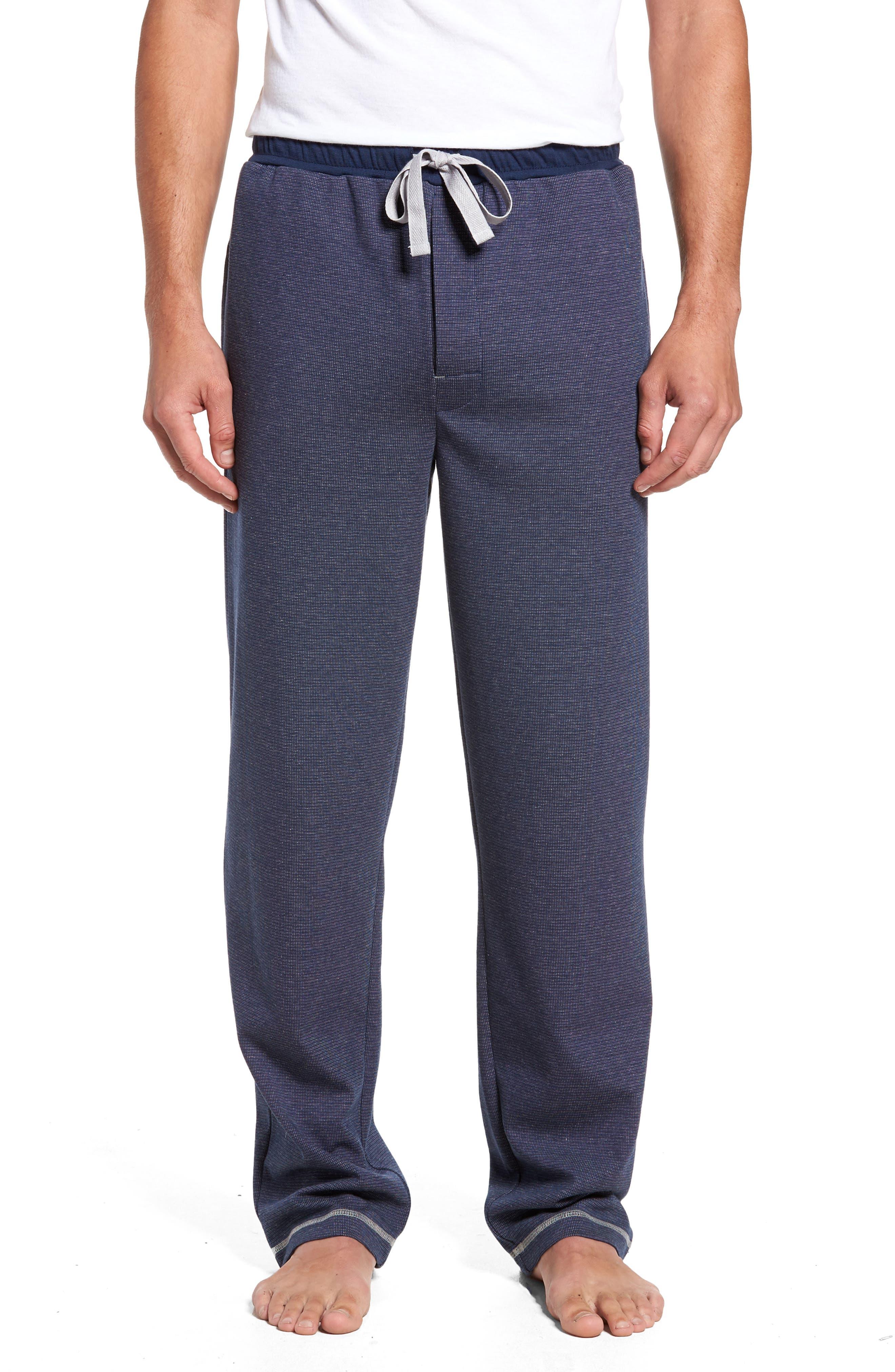 Lodge Layers Lounge Pants,                             Main thumbnail 1, color,                             Navy
