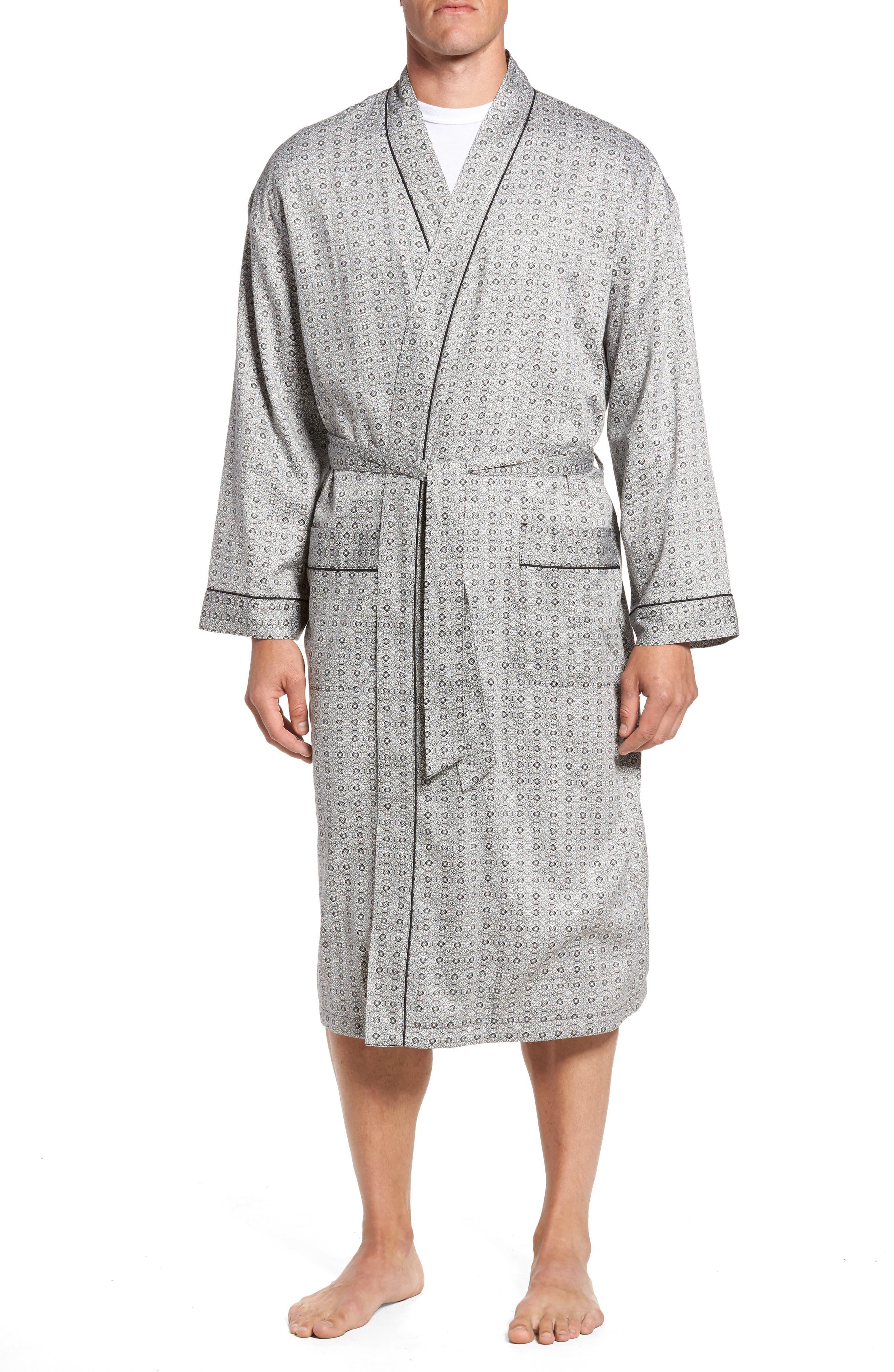 Winterlude Robe,                         Main,                         color, Black