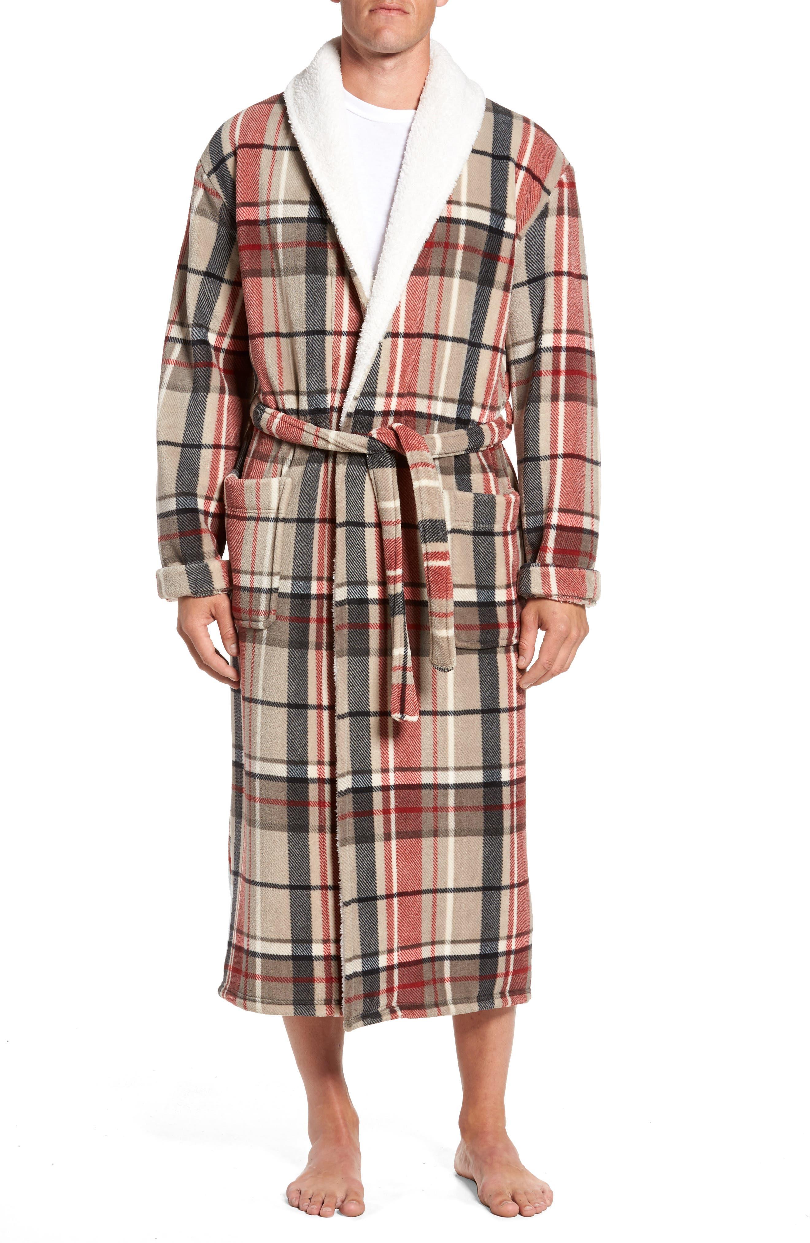 Holly Jolly Robe,                         Main,                         color, Plaid