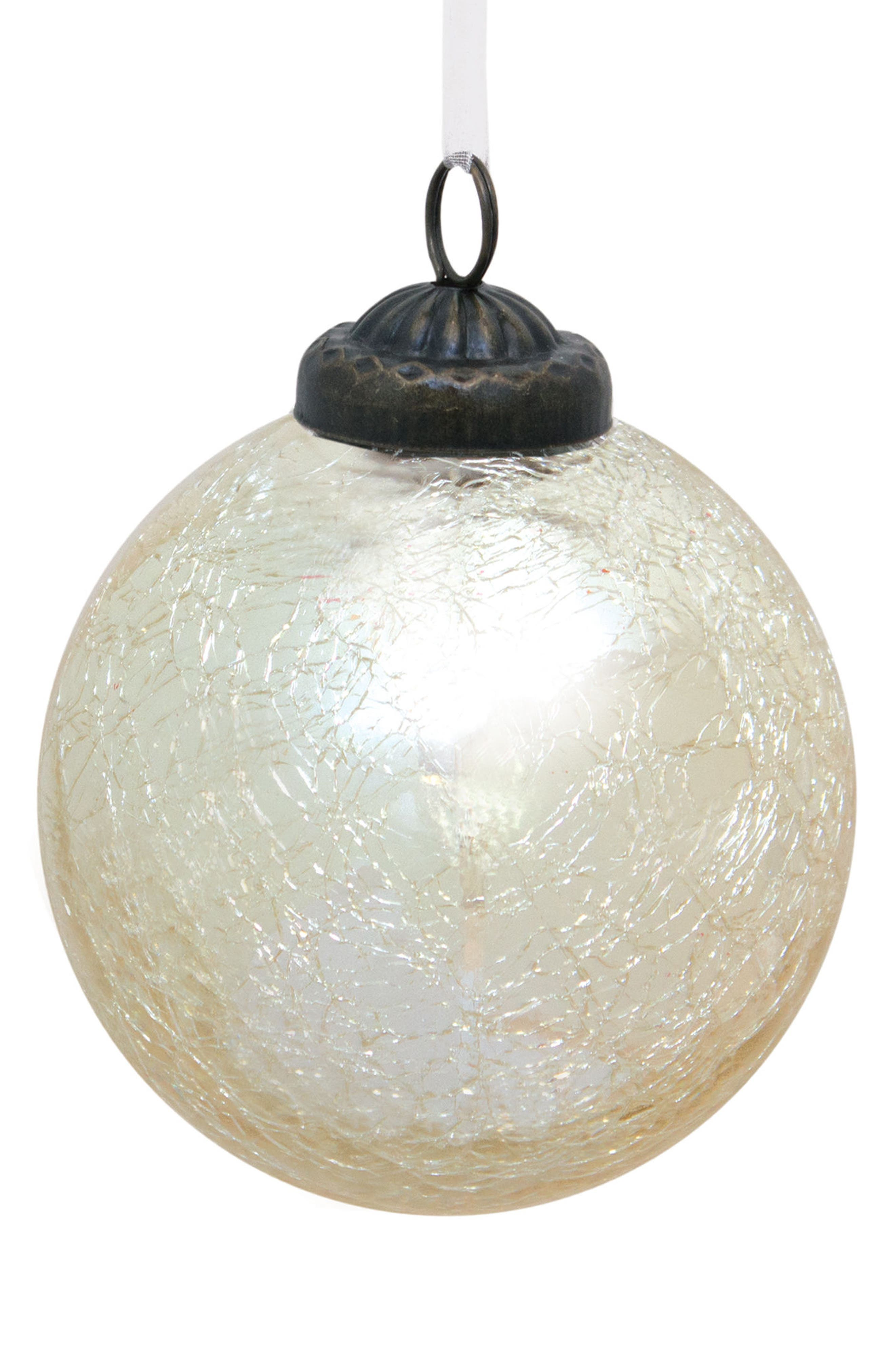 Alternate Image 1 Selected - Melrose Gifts Mercury Glass Ball Ornament
