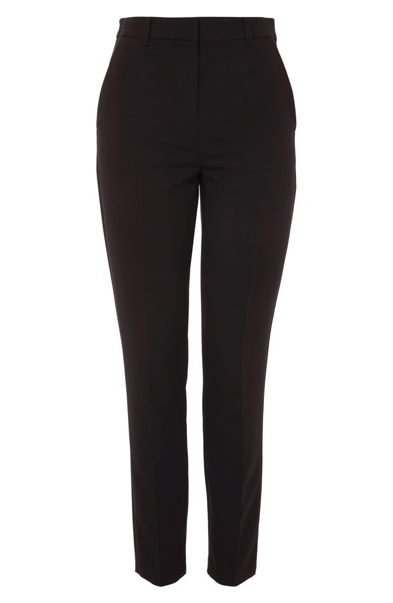 Alternate Image 4  - Topshop High Waist Cigarette Trousers