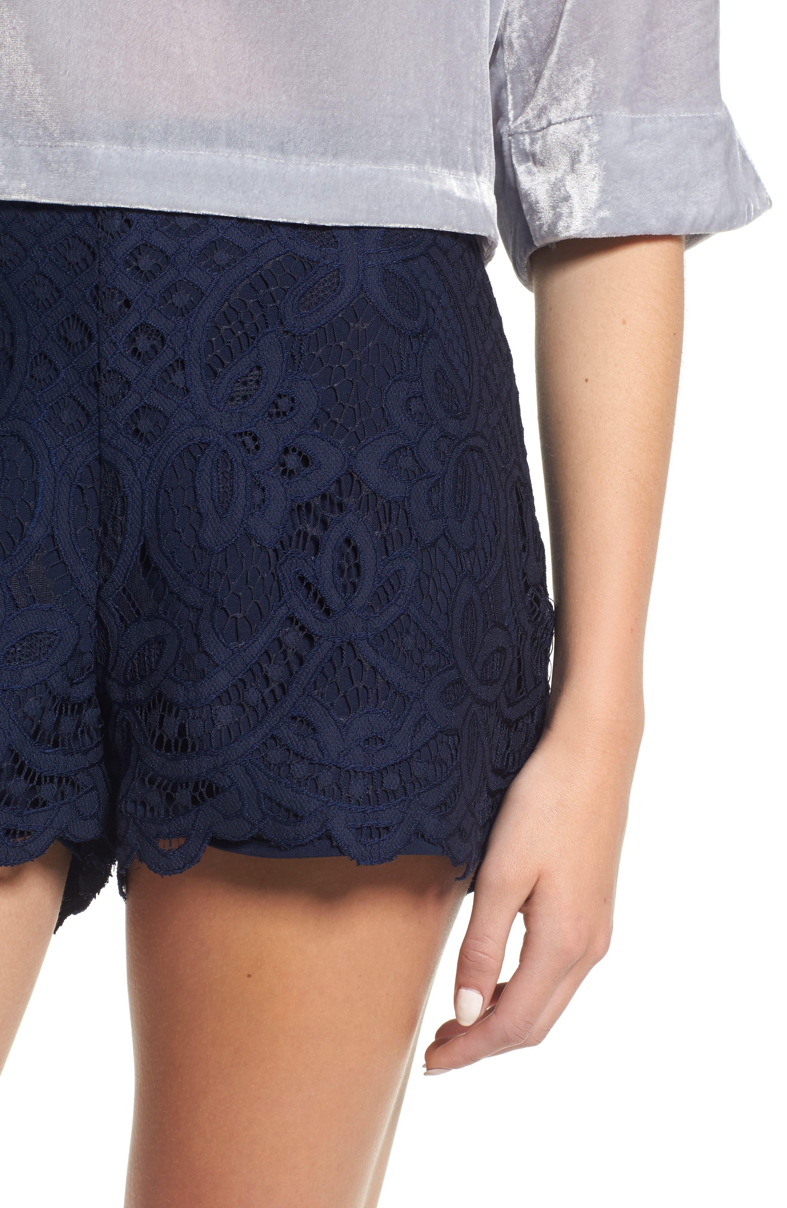 Alternate Image 4  - cupcakes and cashmere Jennifer Lace Shorts