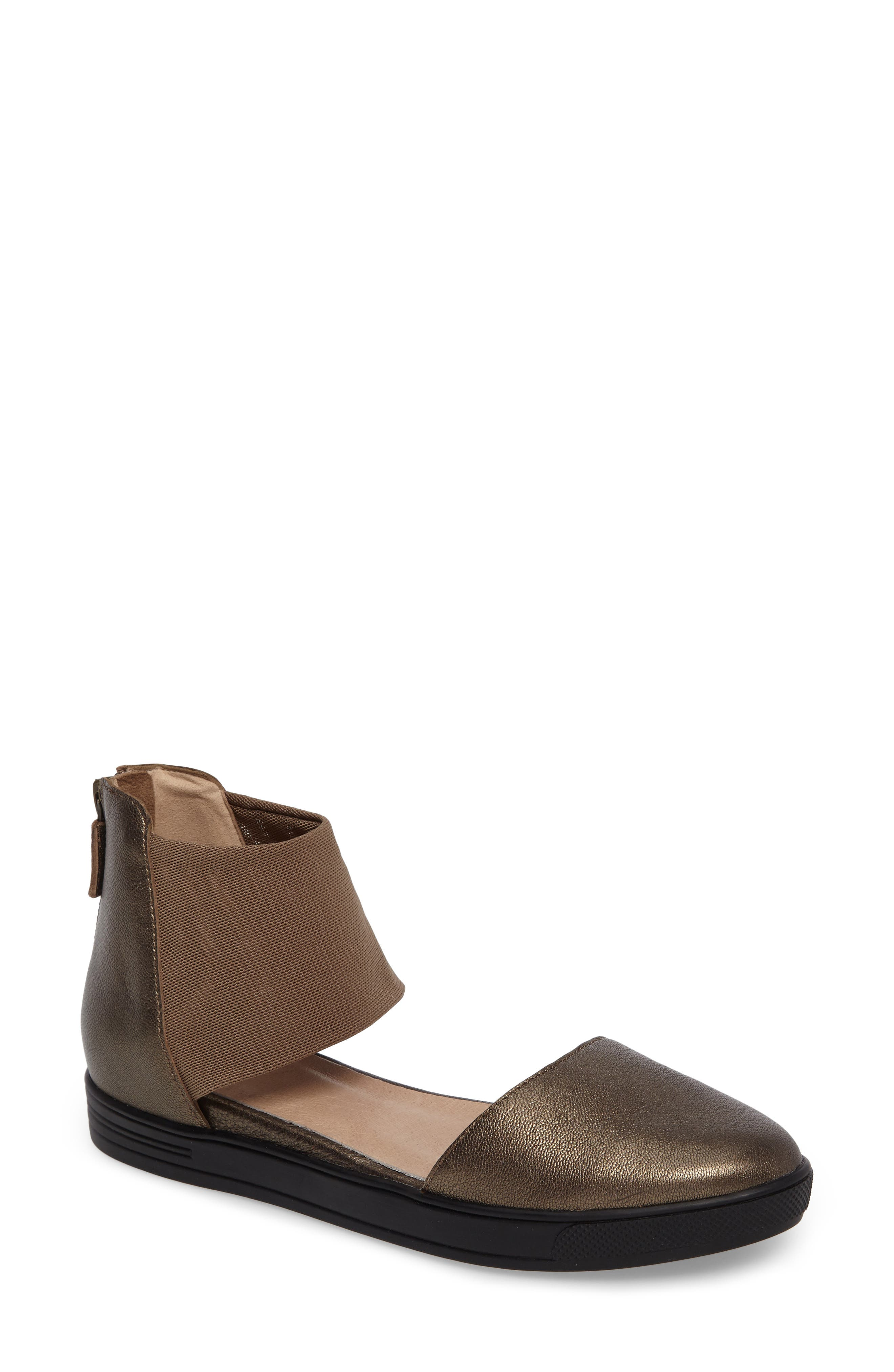 Alternate Image 1 Selected - Eileen Fisher Powell Ankle Cuff Sandal(Women)