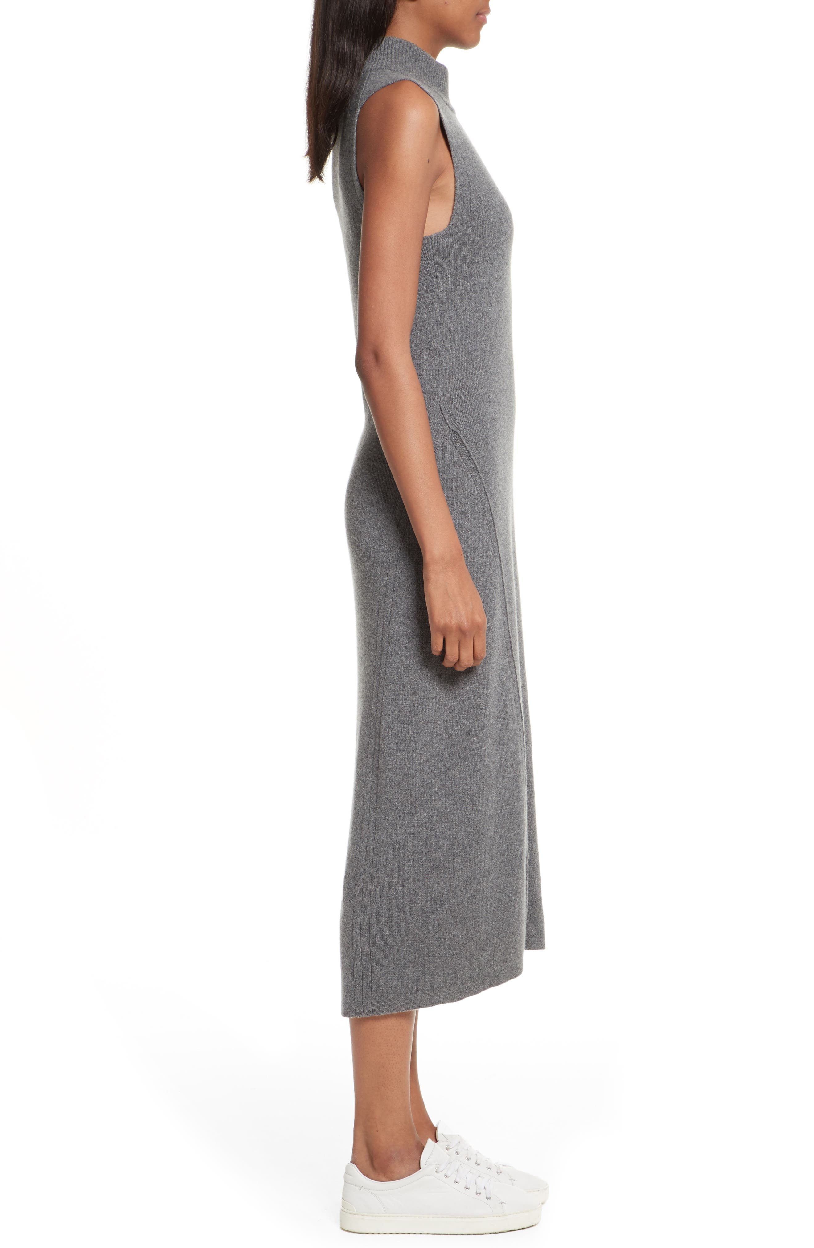 Alternate Image 5  - rag & bone Ace Cashmere Mock Neck Sweater Dress