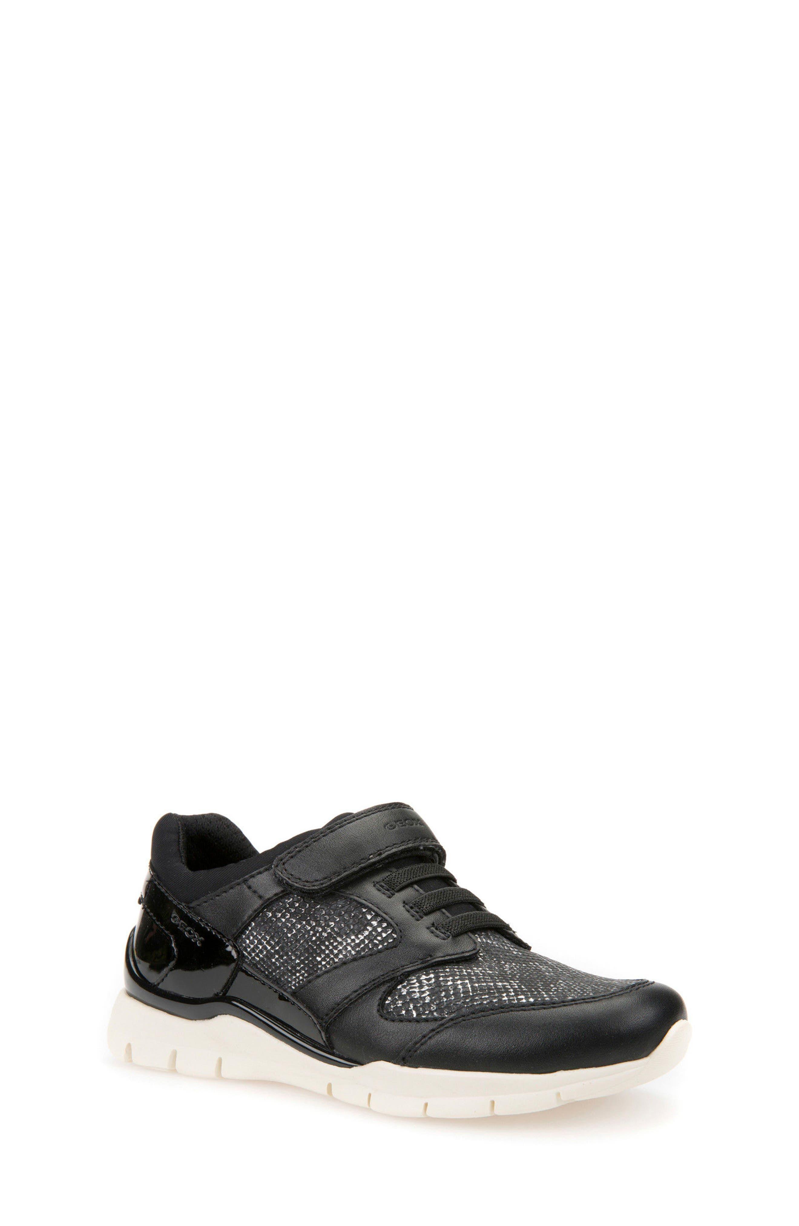 Sukie Sneaker,                             Main thumbnail 1, color,                             Black