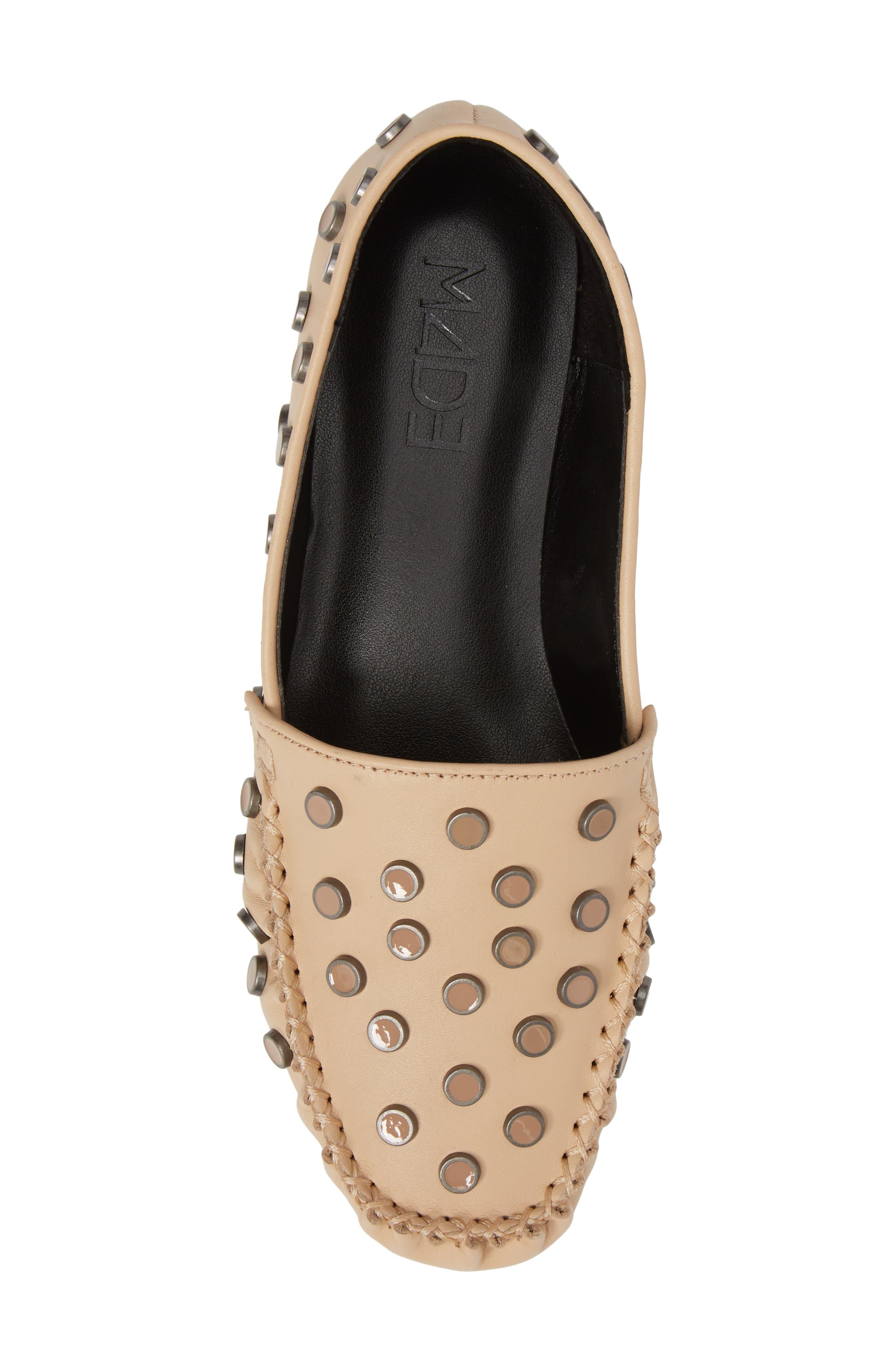 M4D3 Conneticut Loafer,                             Alternate thumbnail 5, color,                             Bisque Leather