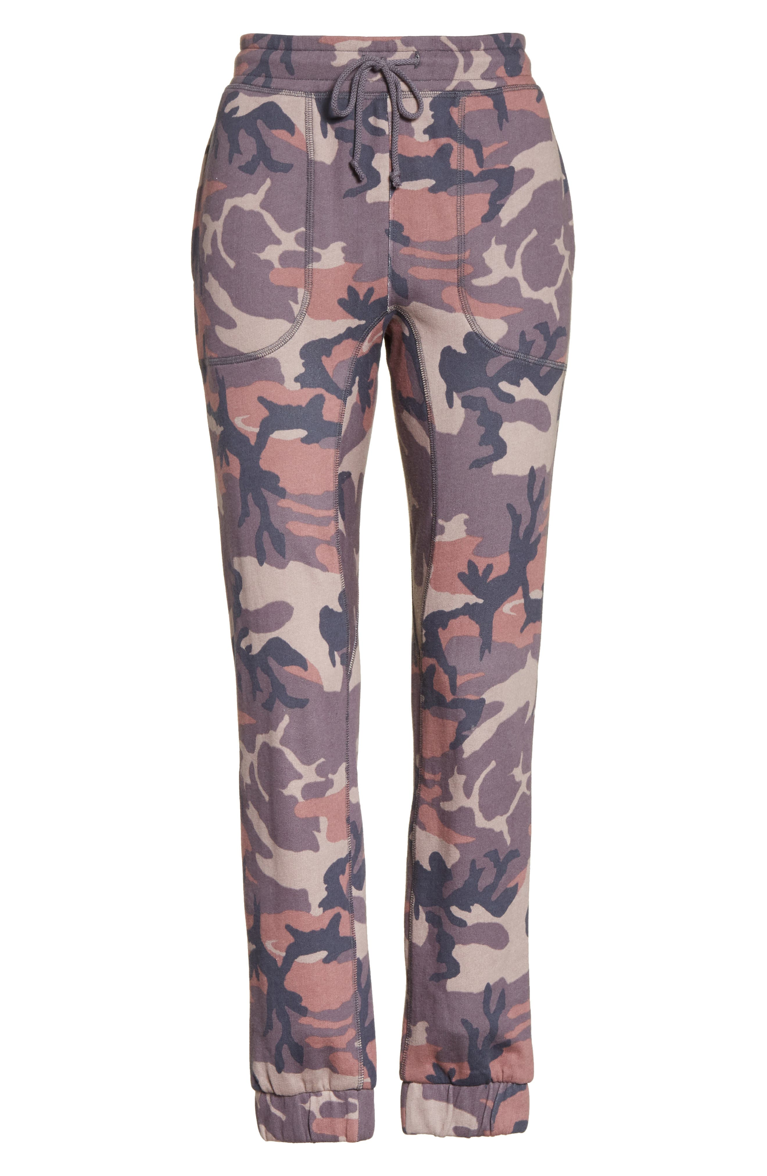 Alternate Image 6  - Free People Camo Jogger Pants