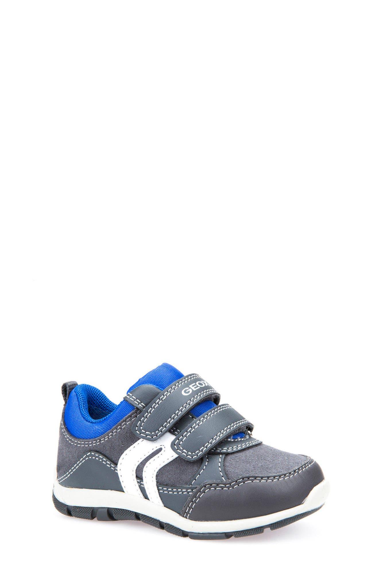 'Shaax 9' Sneaker,                             Main thumbnail 1, color,                             Grey/ Royal