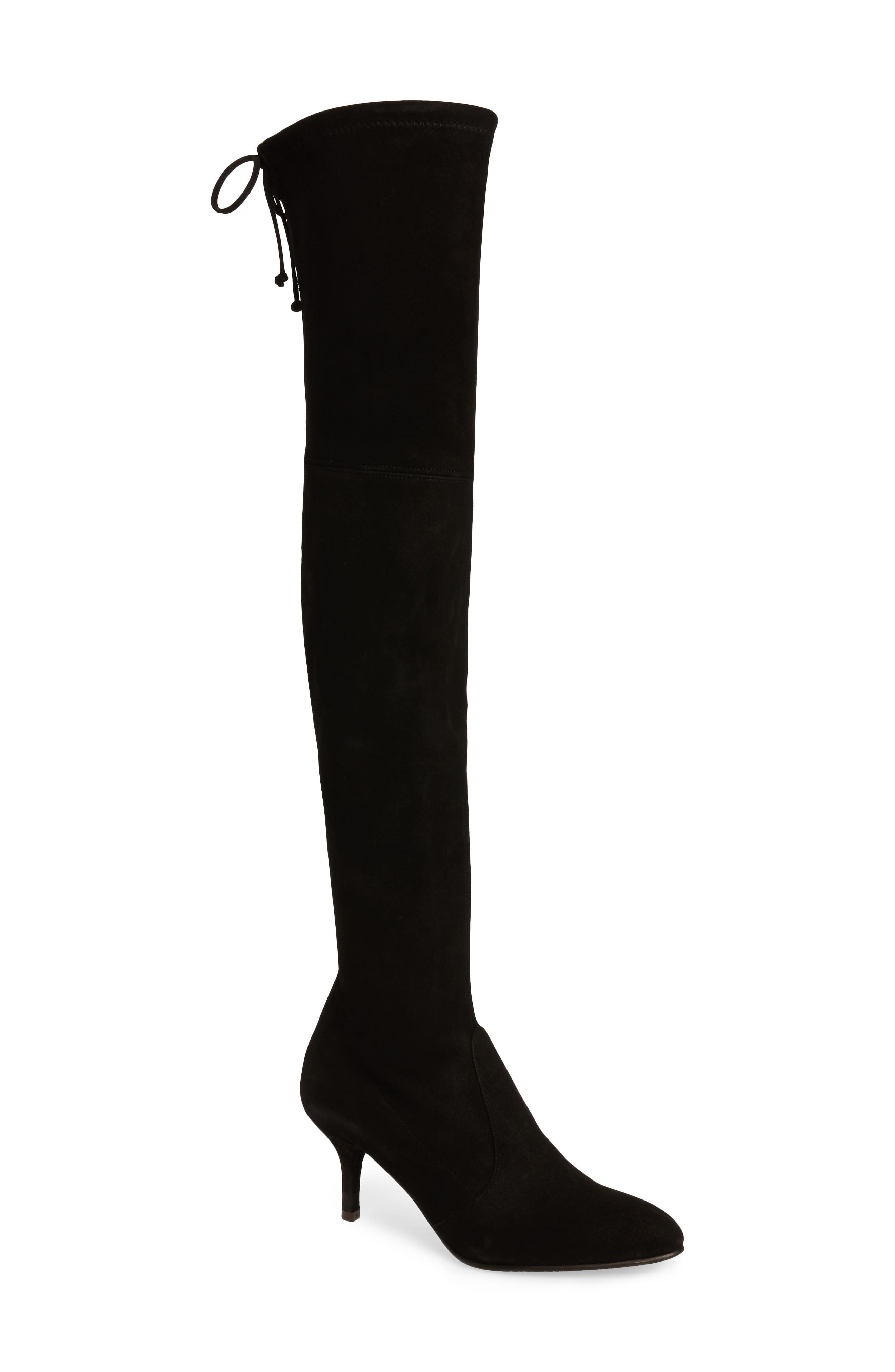 Alternate Image 1 Selected - Stuart Weitzman Tiemodel Over the Knee Stretch Boot (Women)