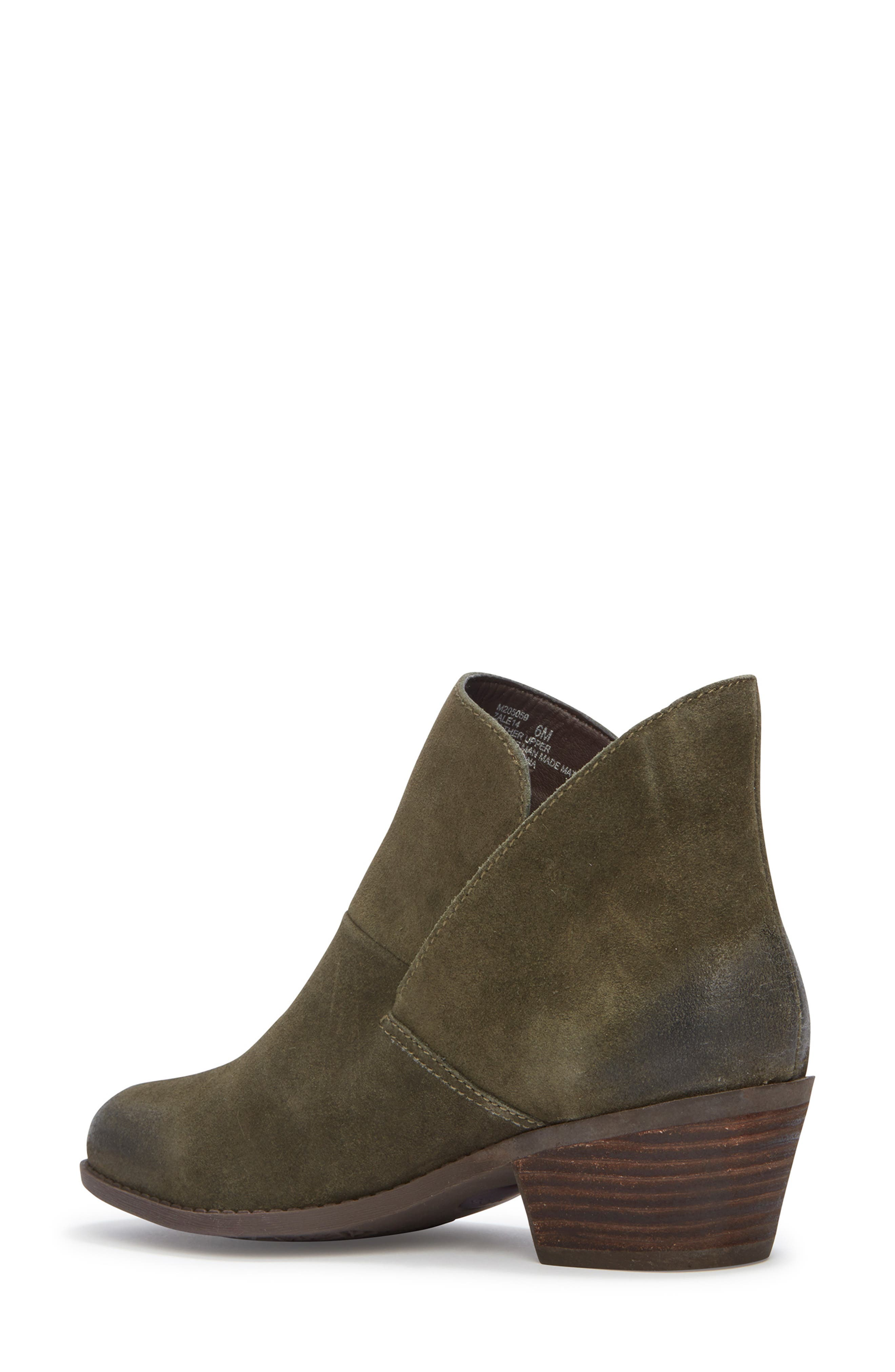 Me Too Zena Ankle Boot,                             Alternate thumbnail 2, color,                             Moss Suede