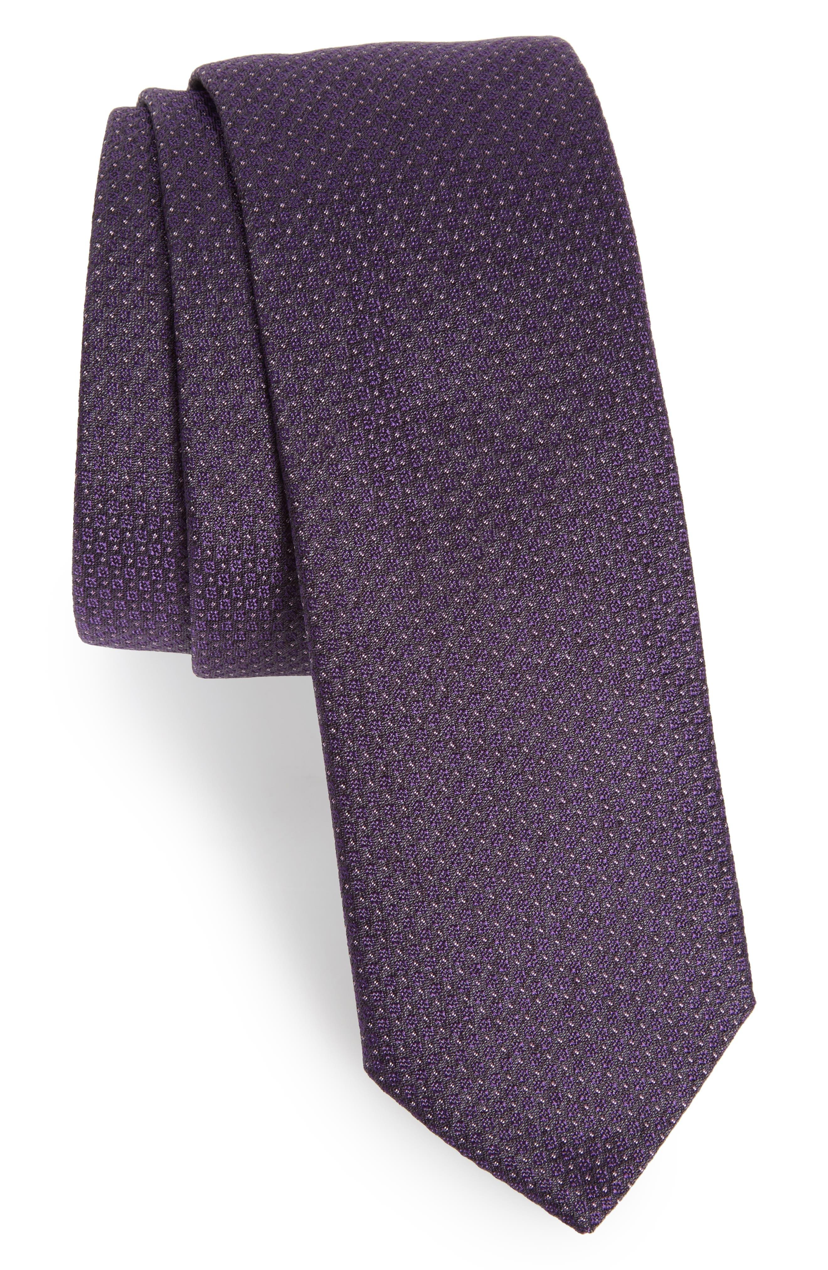 Main Image - BOSS Dot Silk Tie