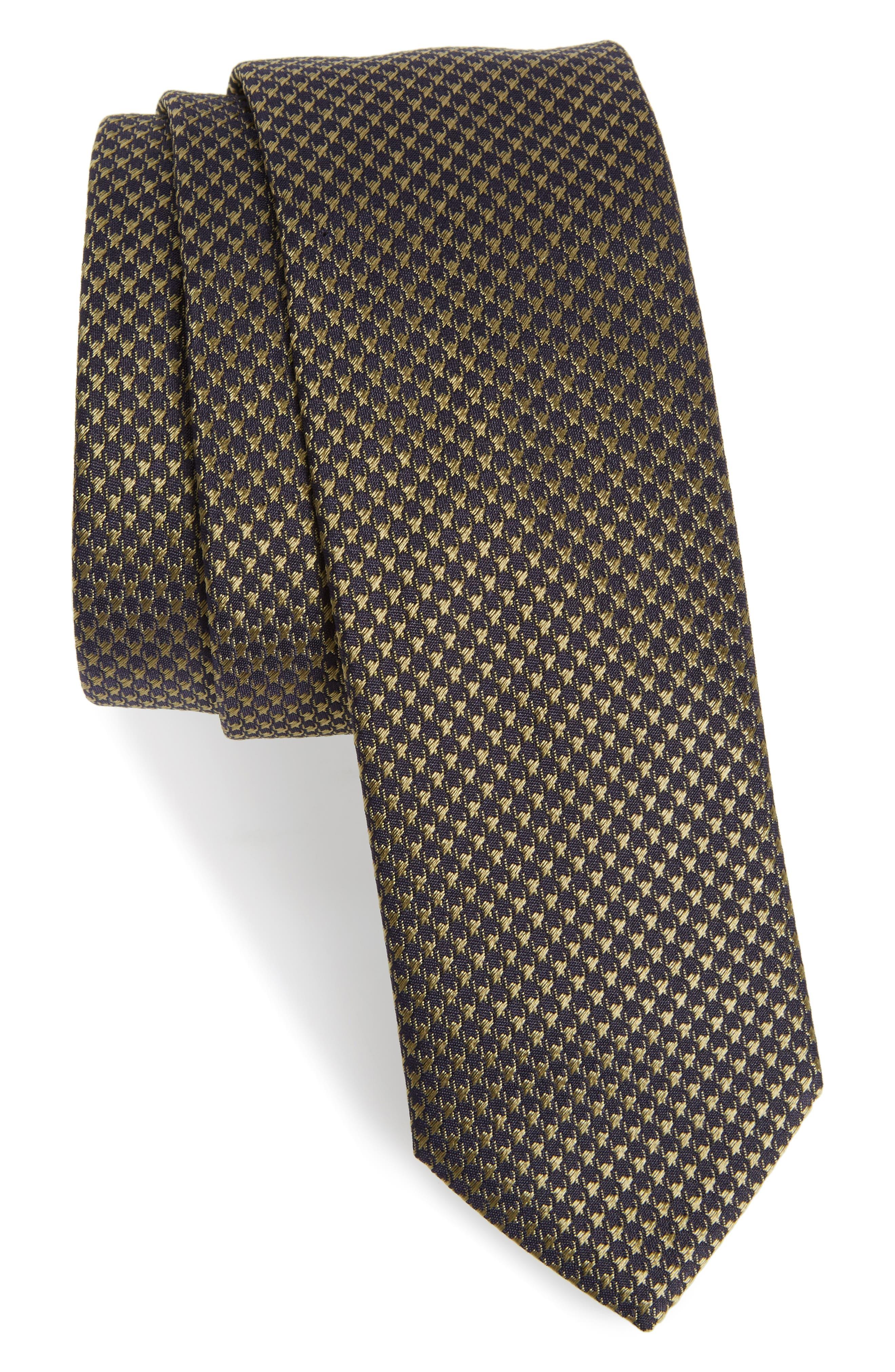 Main Image - BOSS Jacquard Silk Tie