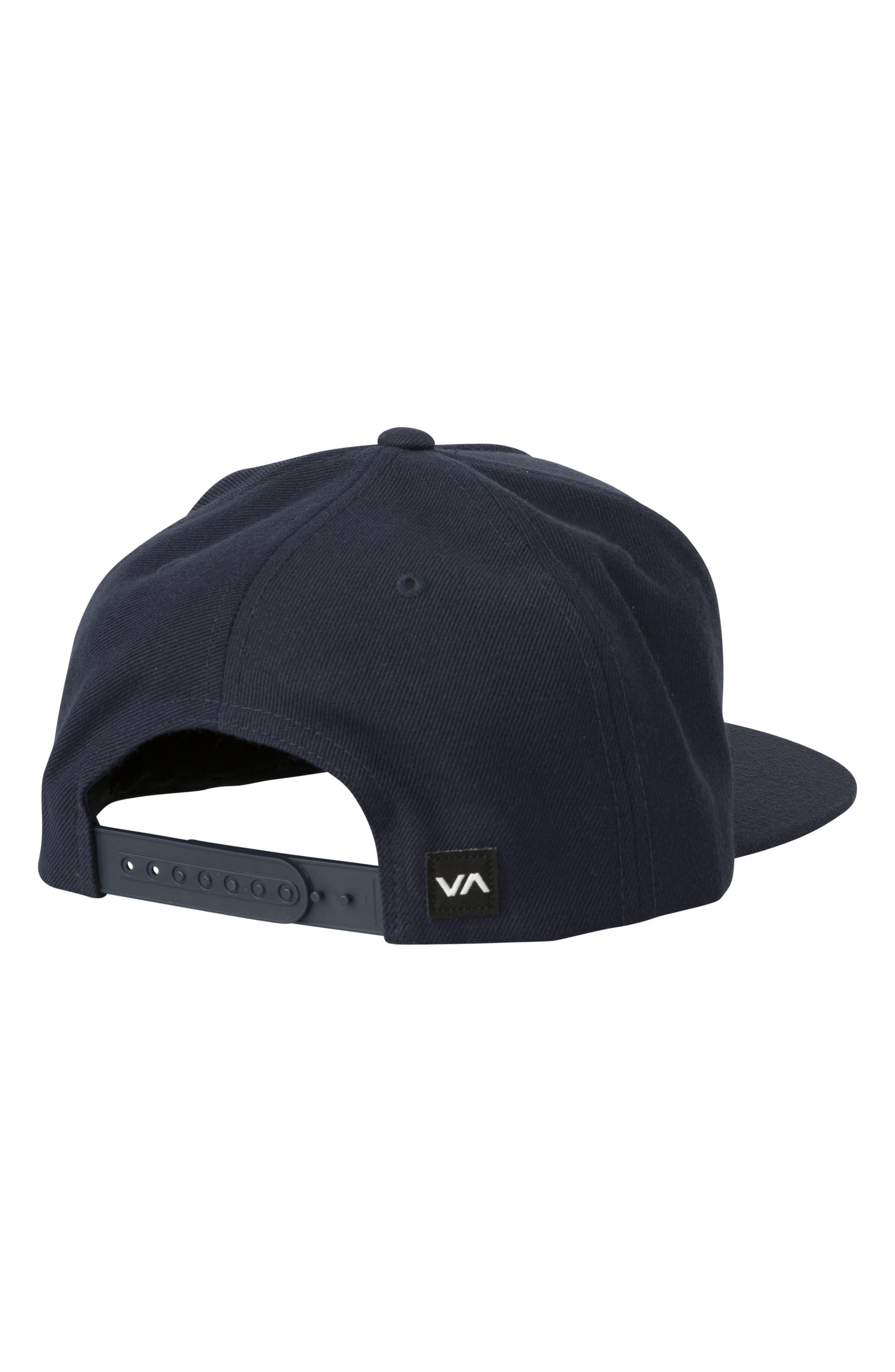 Commonwealth Snapback Baseball Cap,                             Alternate thumbnail 2, color,                             Black/ White