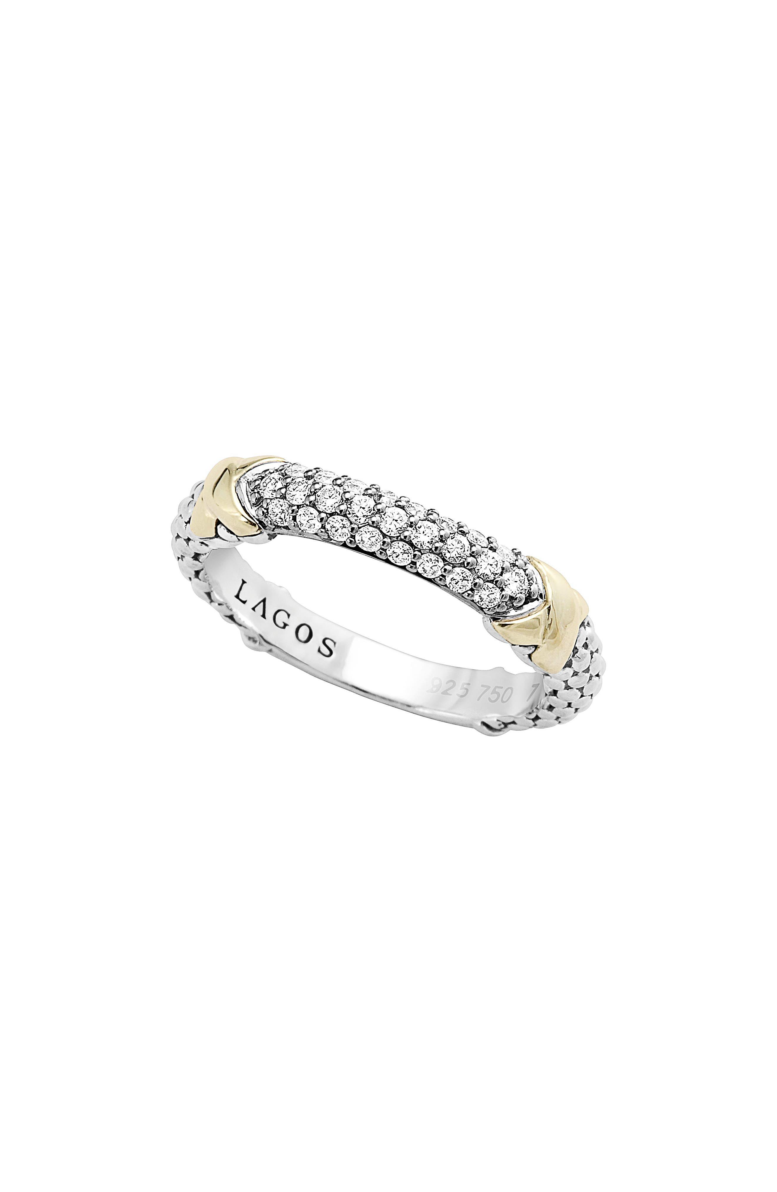 LAGOS Diamond Lux Diamond Band Ring