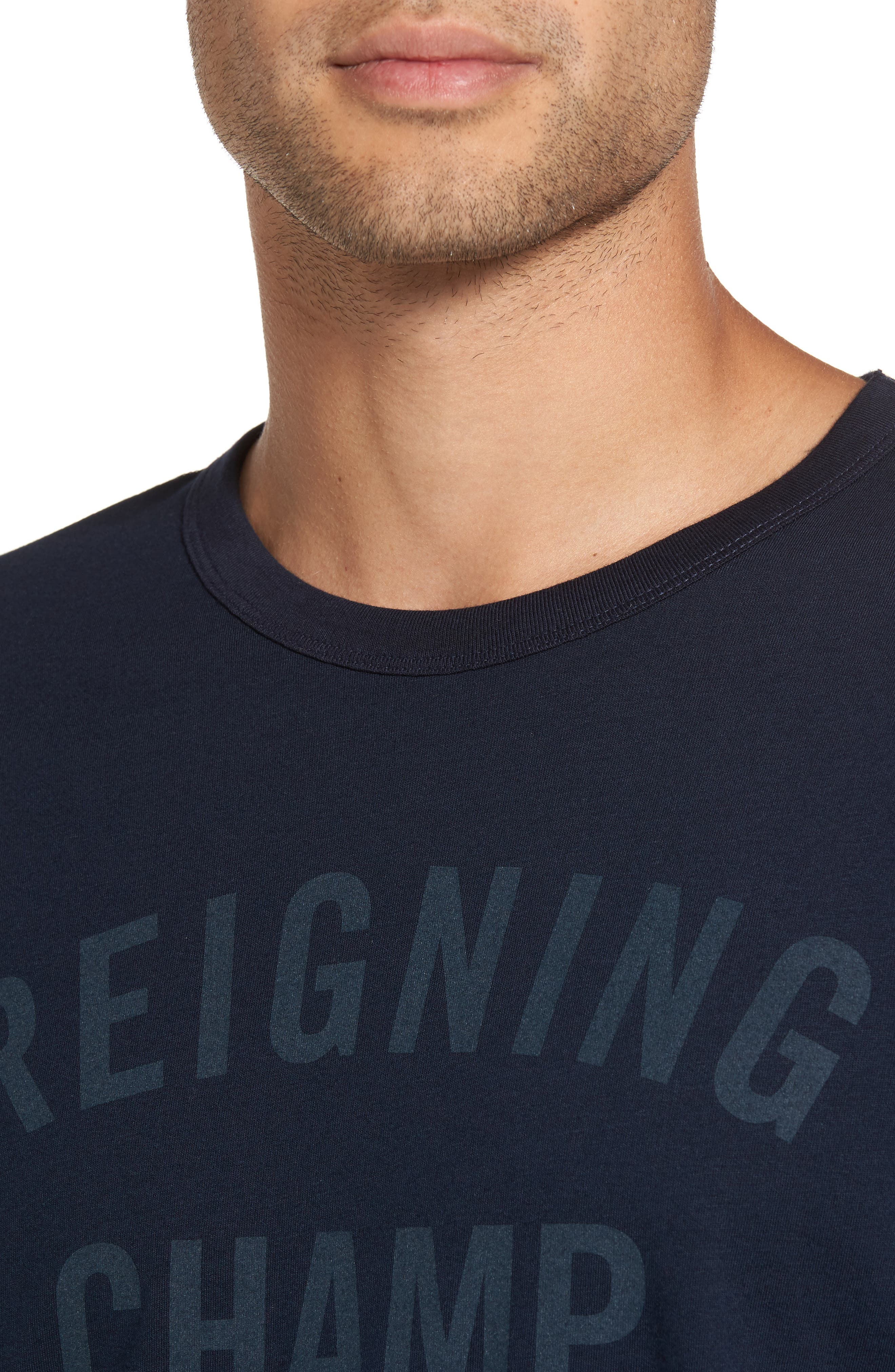 Alternate Image 4  - Reigning Champ 'Gym Logo' Graphic T-Shirt