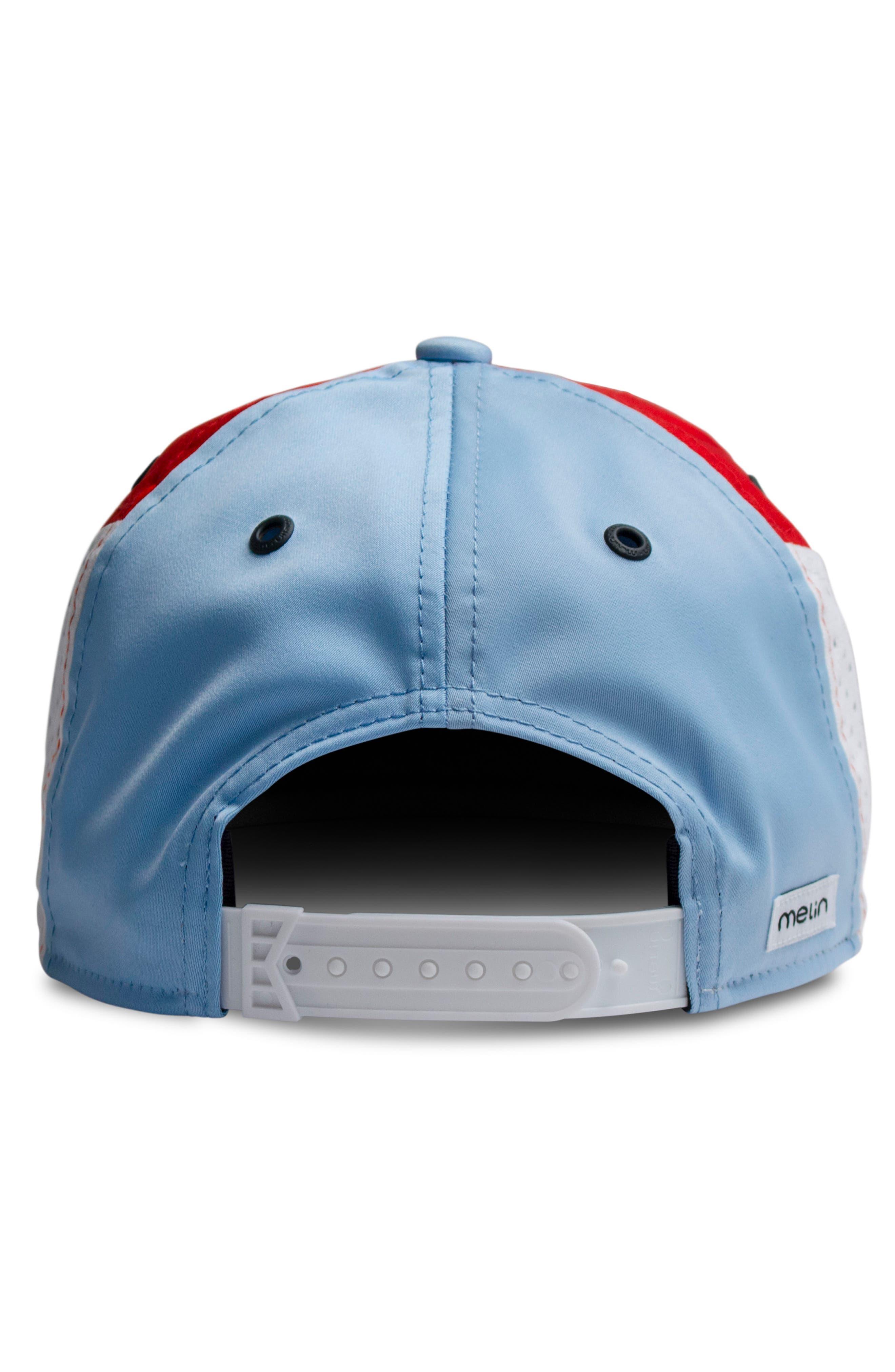 The Assault Snapback Baseball Cap,                             Alternate thumbnail 2, color,                             Red/ White