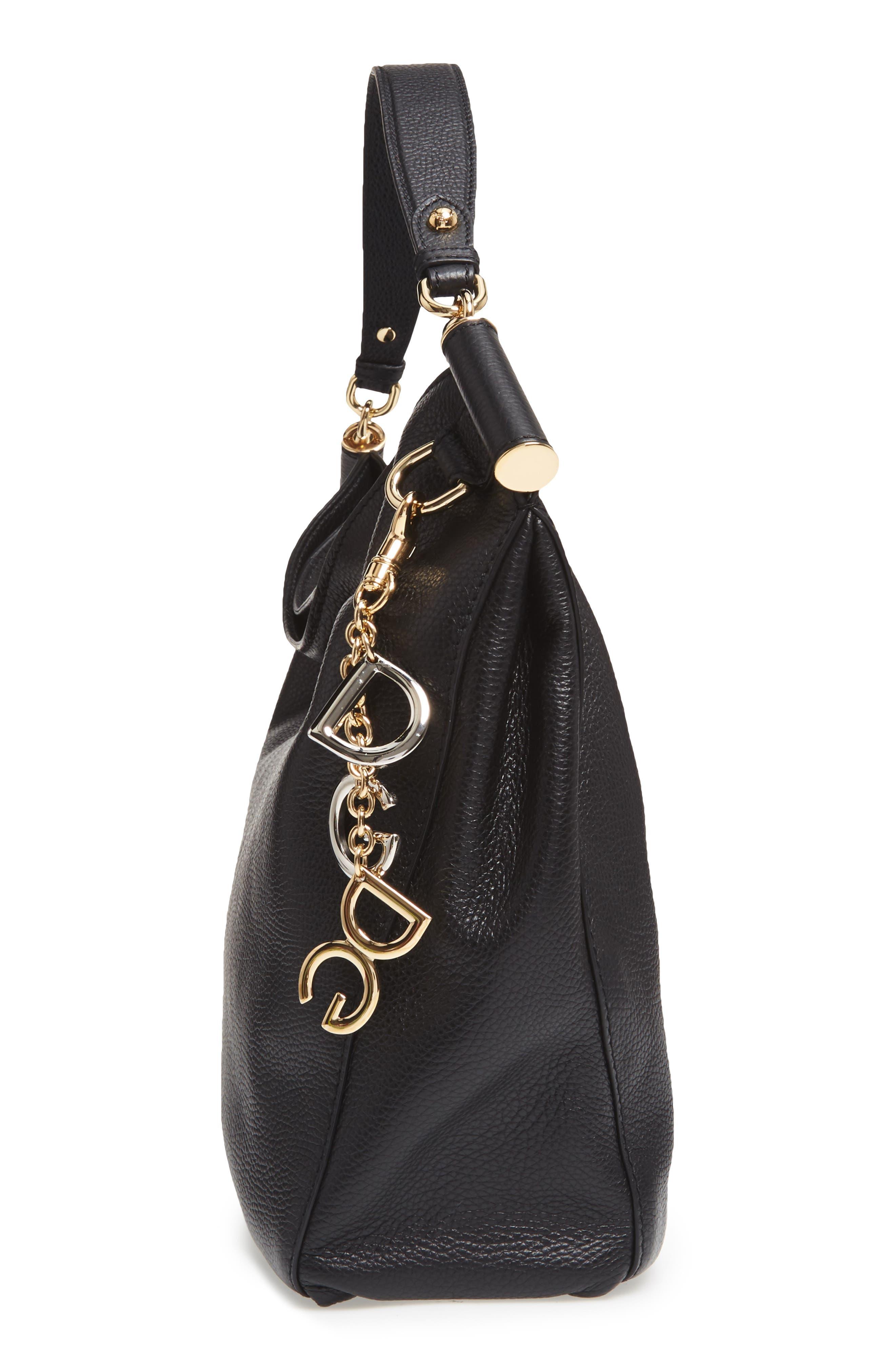 Alternate Image 3  - Dolce&Gabbana Miss Sicily Leather Hobo