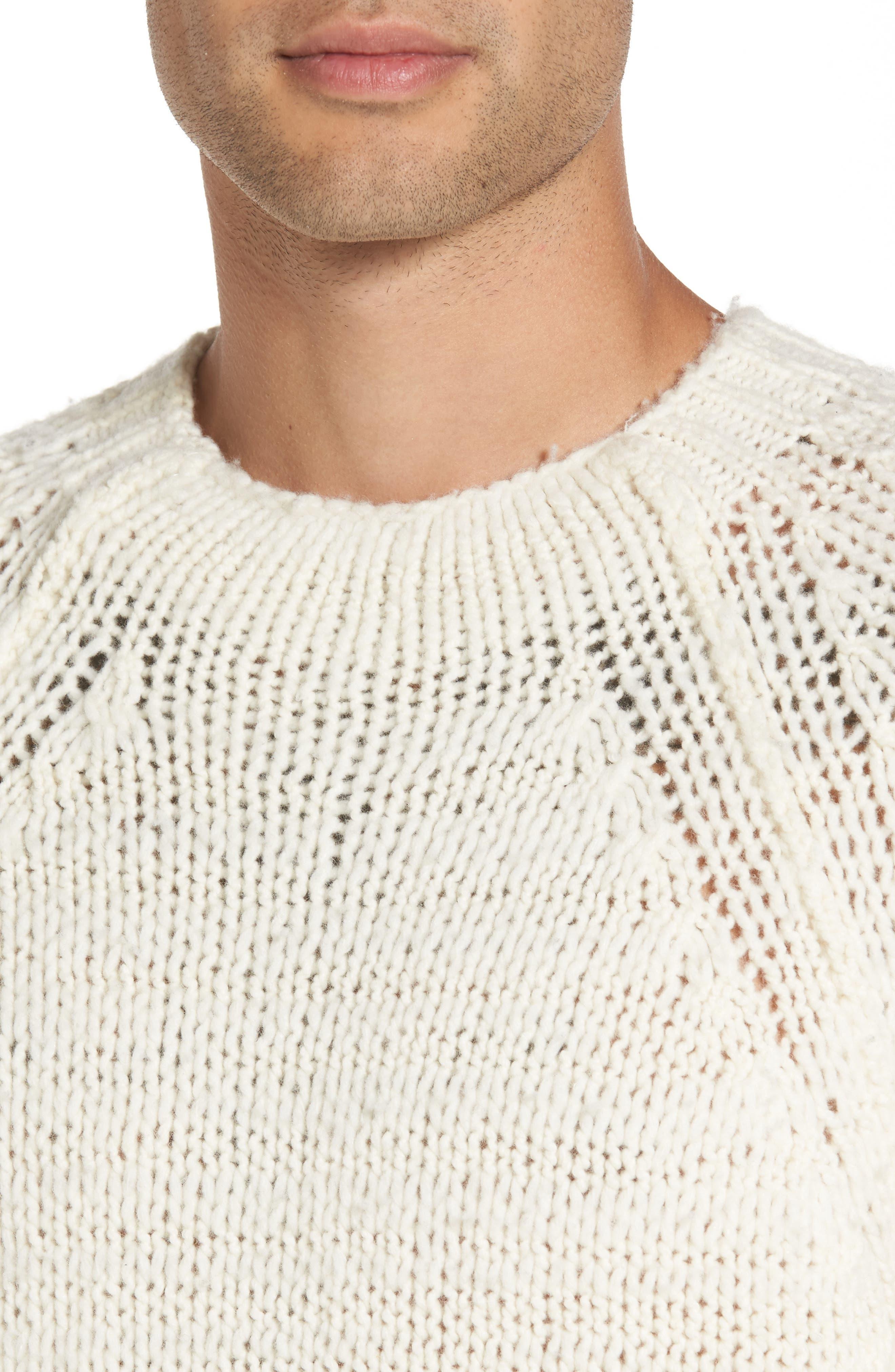 Alternate Image 4  - Vince Raglan Sweater