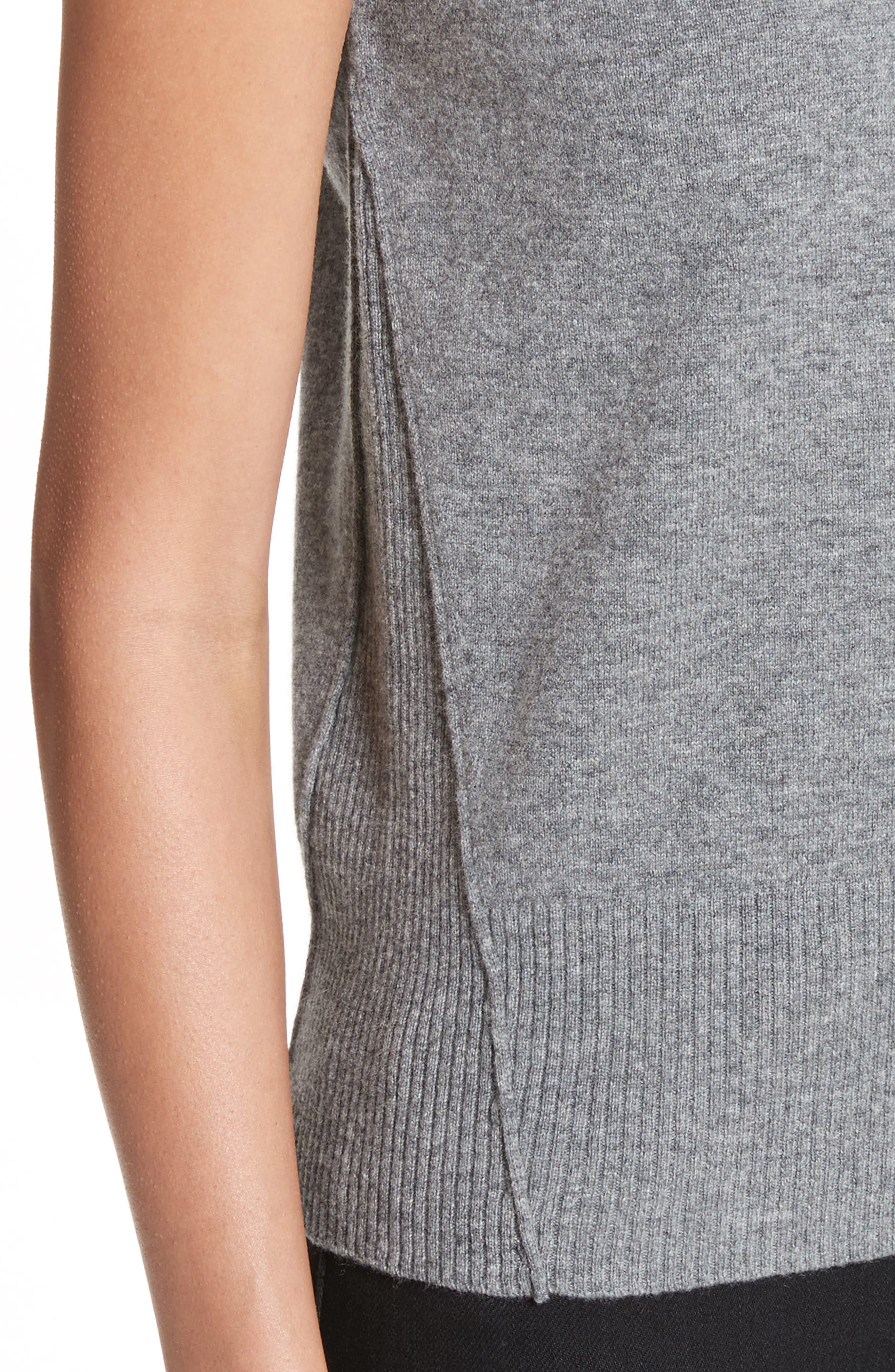 Alternate Image 4  - Akris punto Wool & Cashmere Knit Top