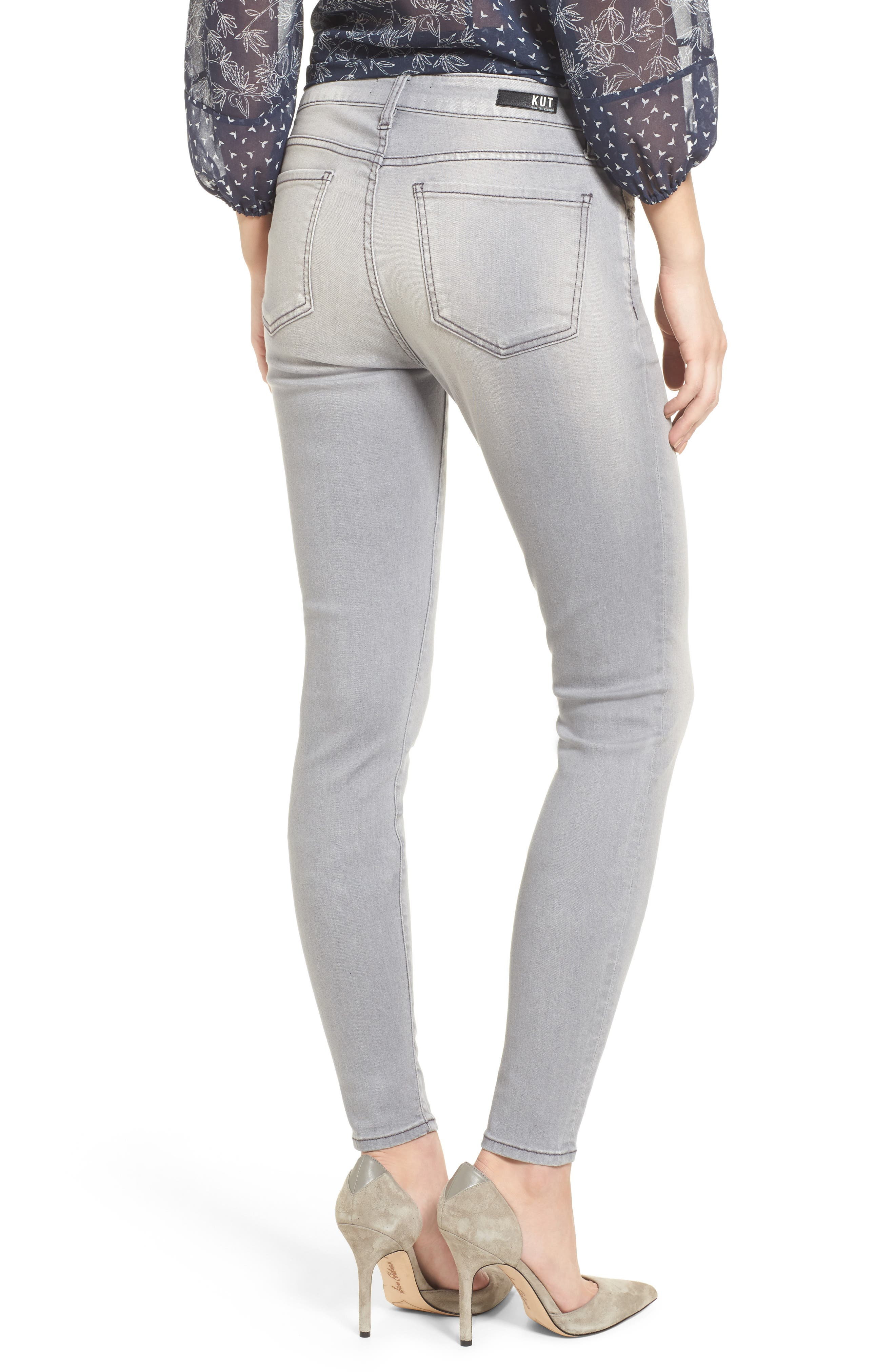 Alternate Image 2  - Kut from the Kloth Mia Skinny Jeans (Prevailed)
