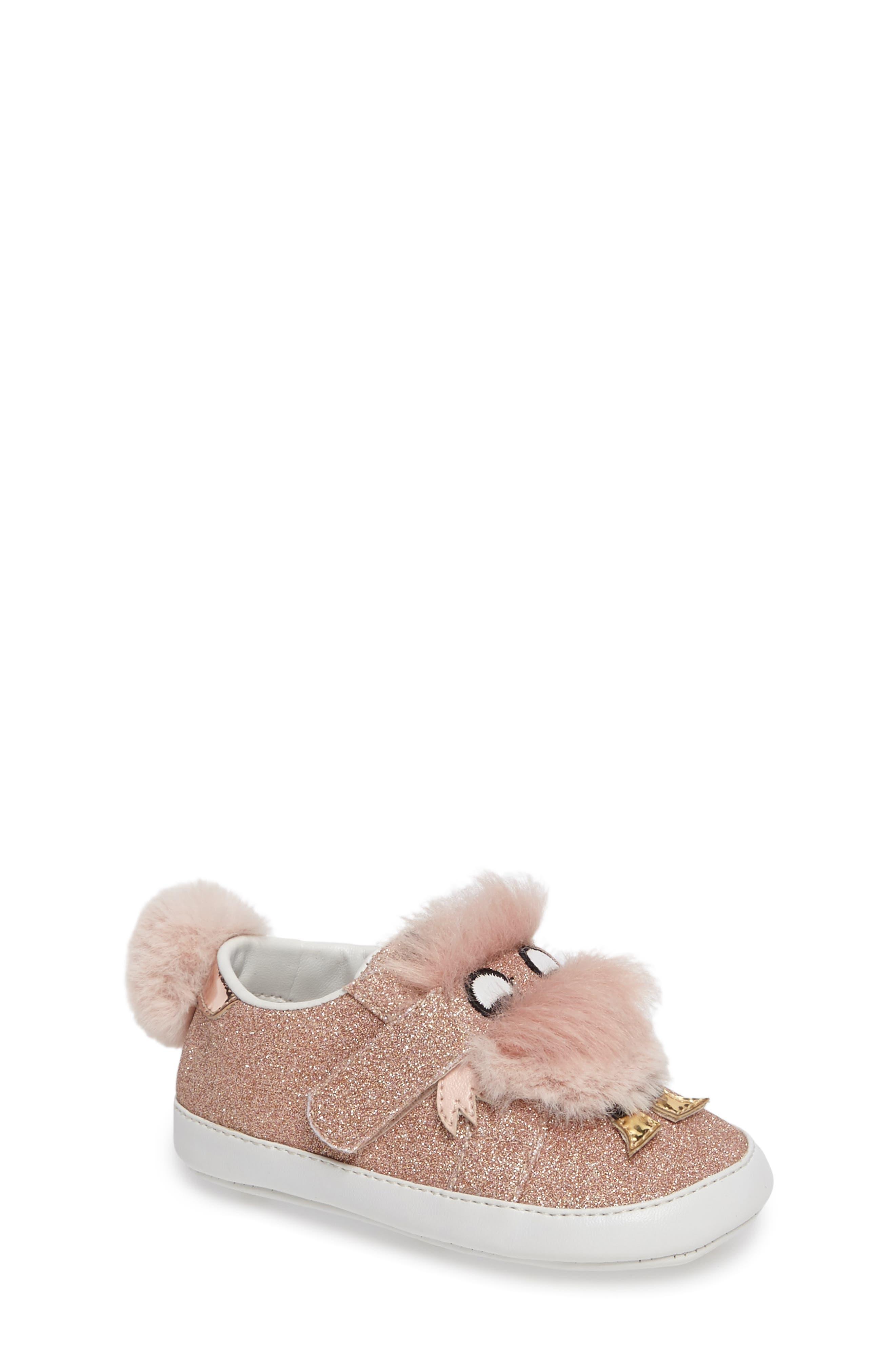 Alternate Image 1 Selected - Sam Edelman Ovee Sneaker (Baby)