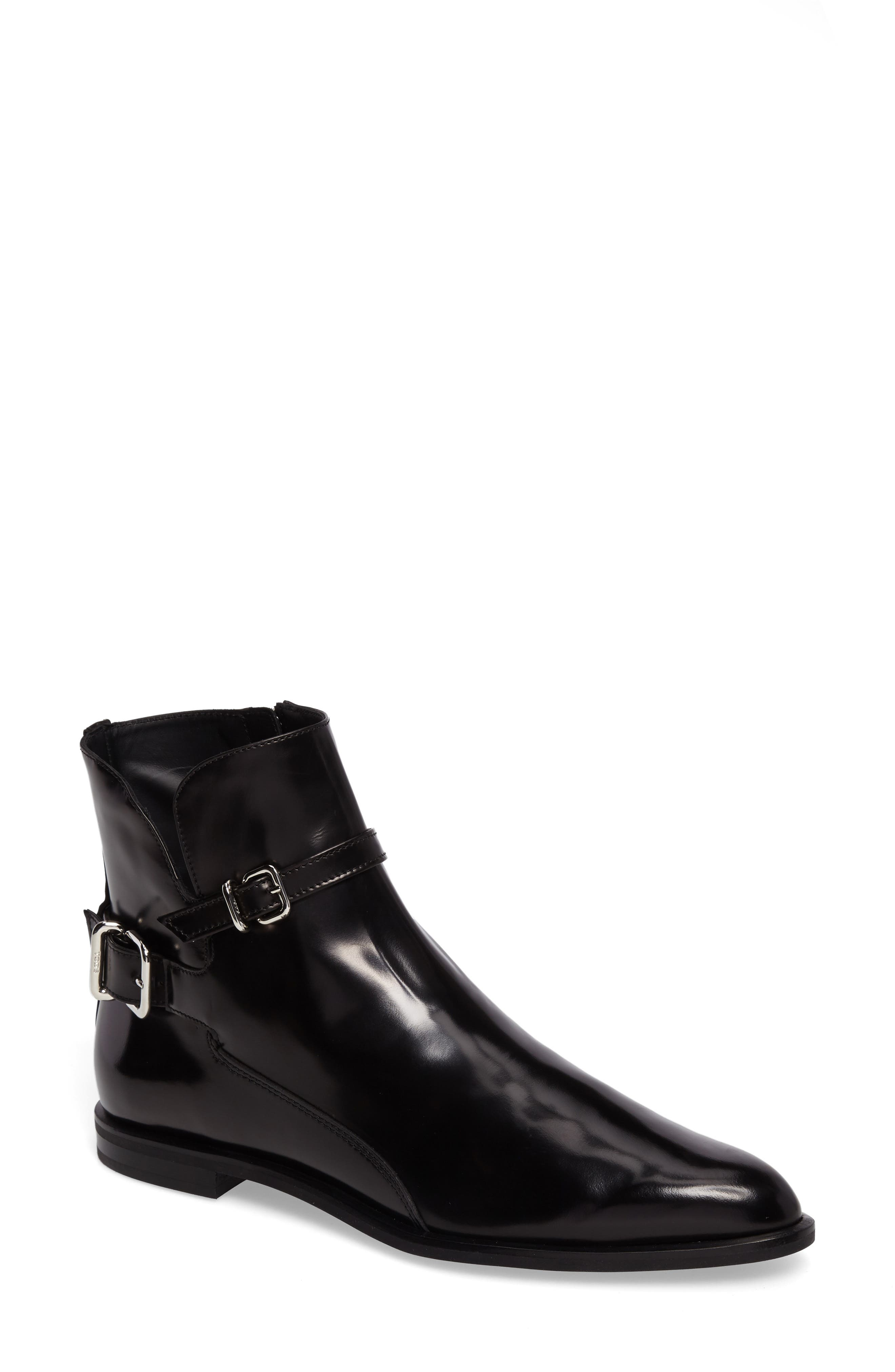 Tod's Pointy Toe Bootie (Women)