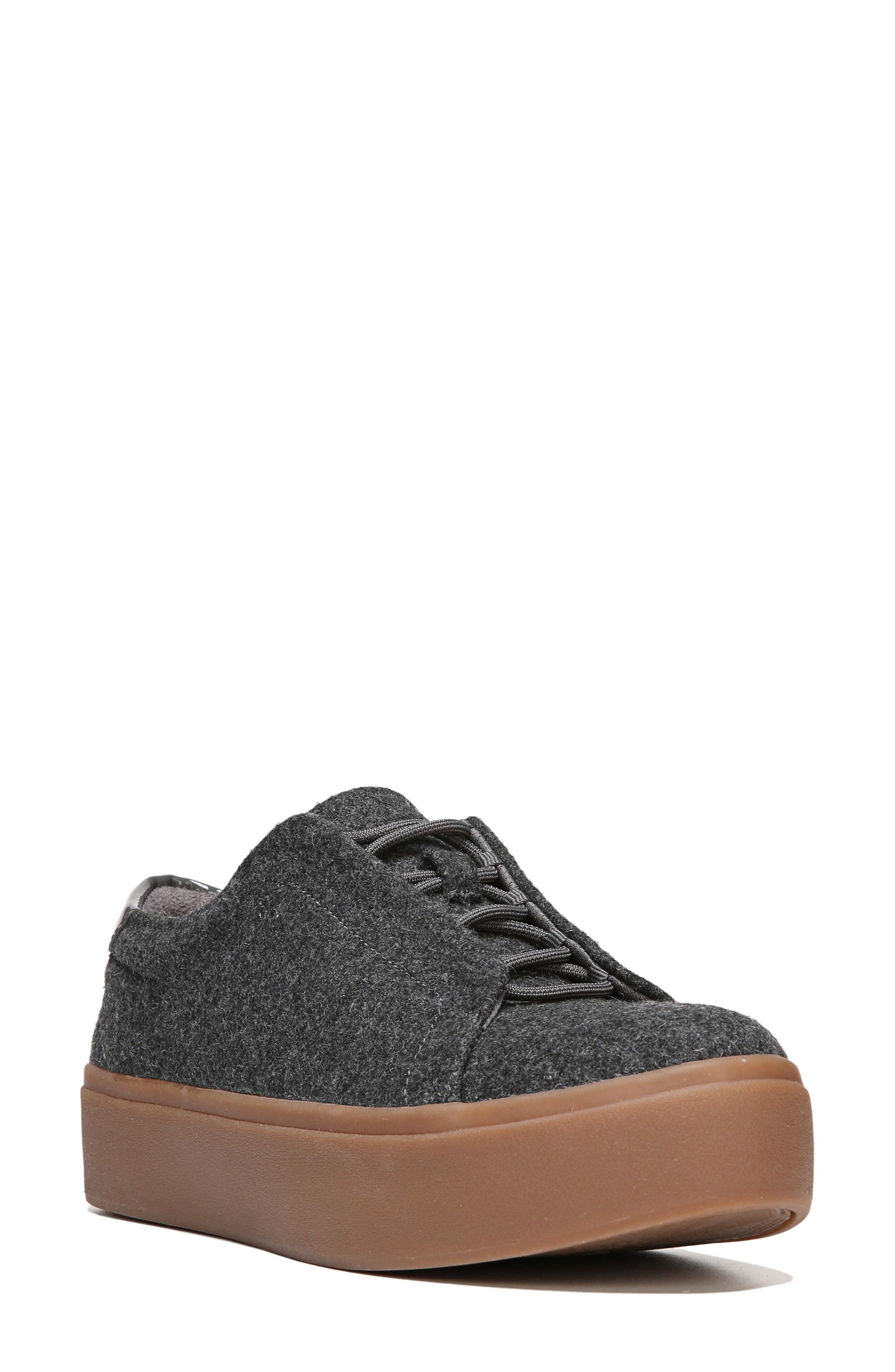 Abbot Sneaker,                         Main,                         color, Charcoal Fabric