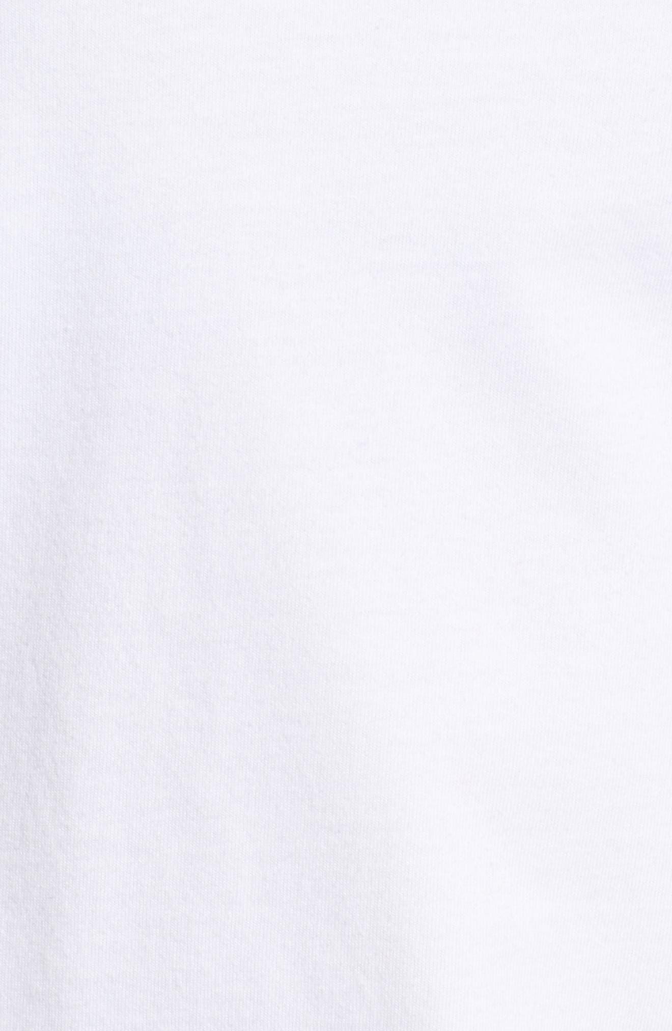 Bride of Frank Whale Pocket Tee,                             Alternate thumbnail 5, color,                             White Cap