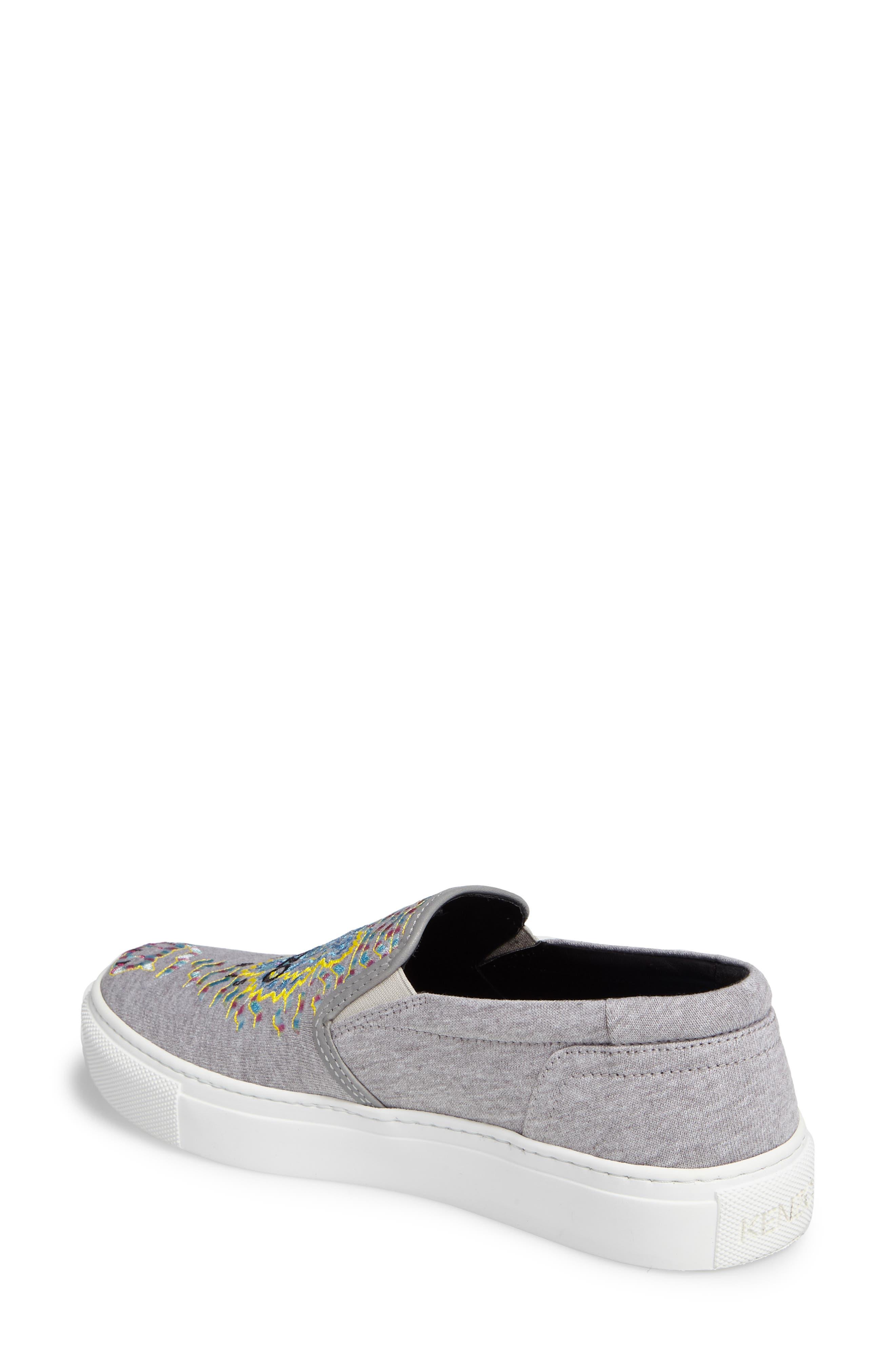 Alternate Image 2  - KENZO K Skate Embroidered Slip-On Sneaker (Women)
