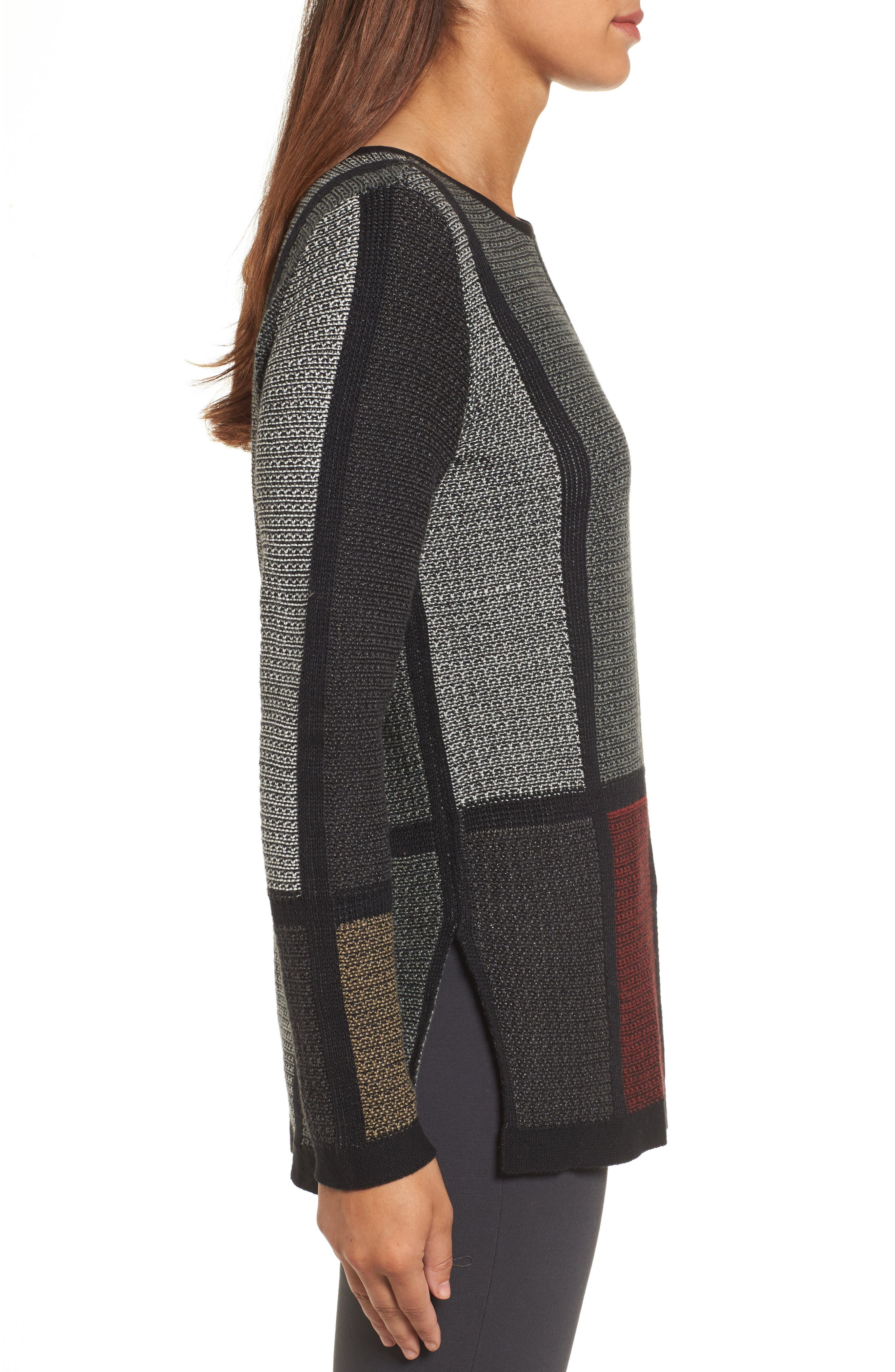 Alternate Image 3  - NIC+ZOE Around the Block Sweater (Regular & Petite)