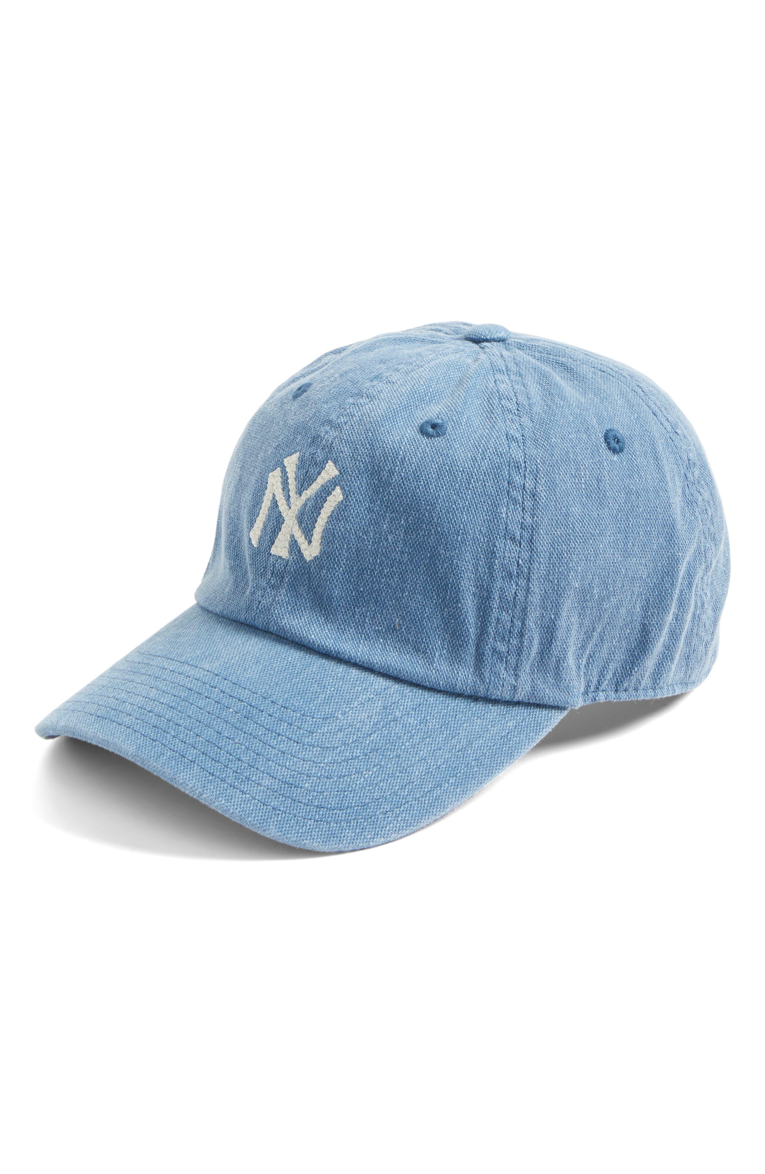 Danbury New York Yankees Baseball Cap,                         Main,                         color, Navy