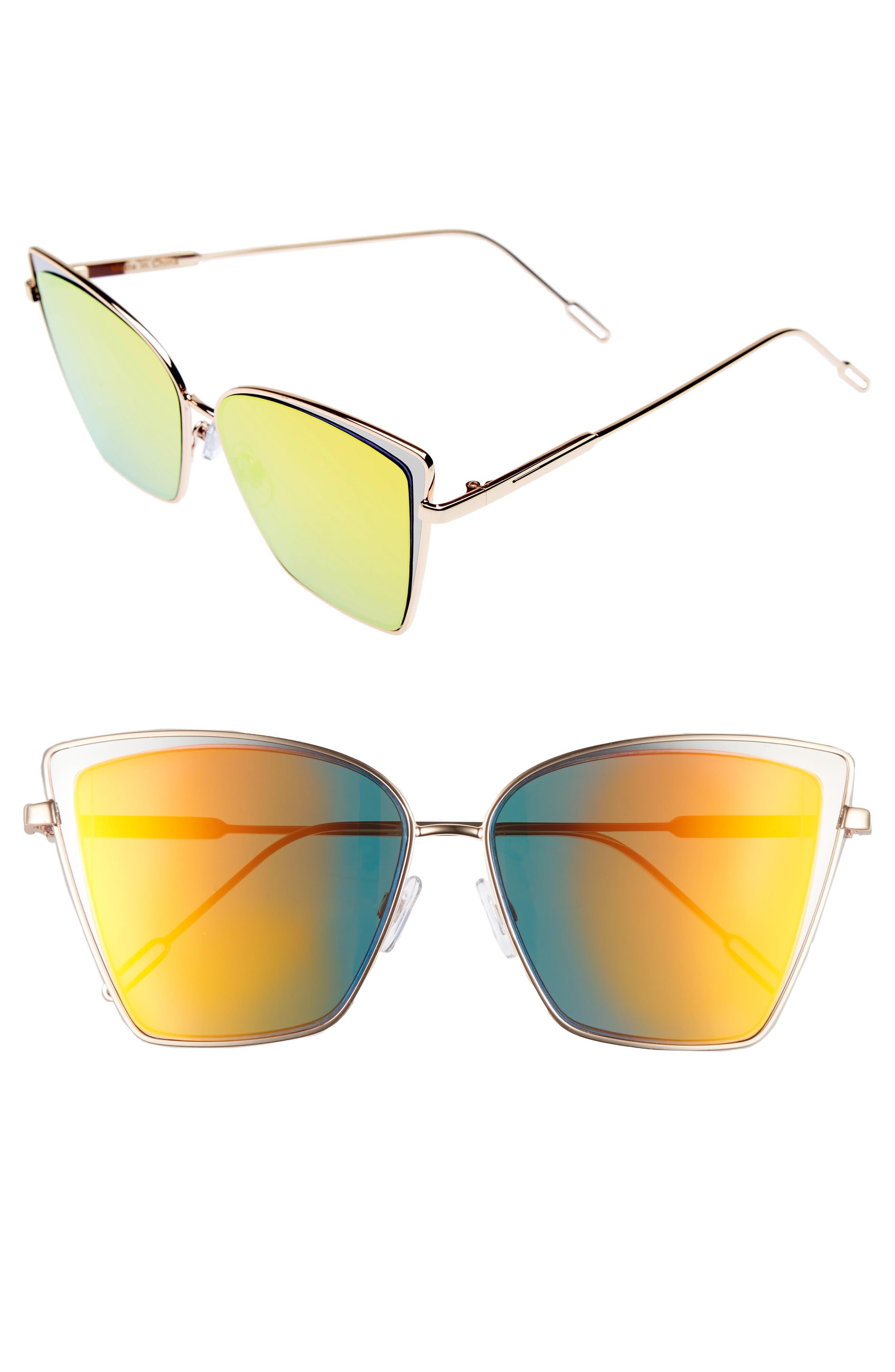LEITH 56mm Square Sunglasses