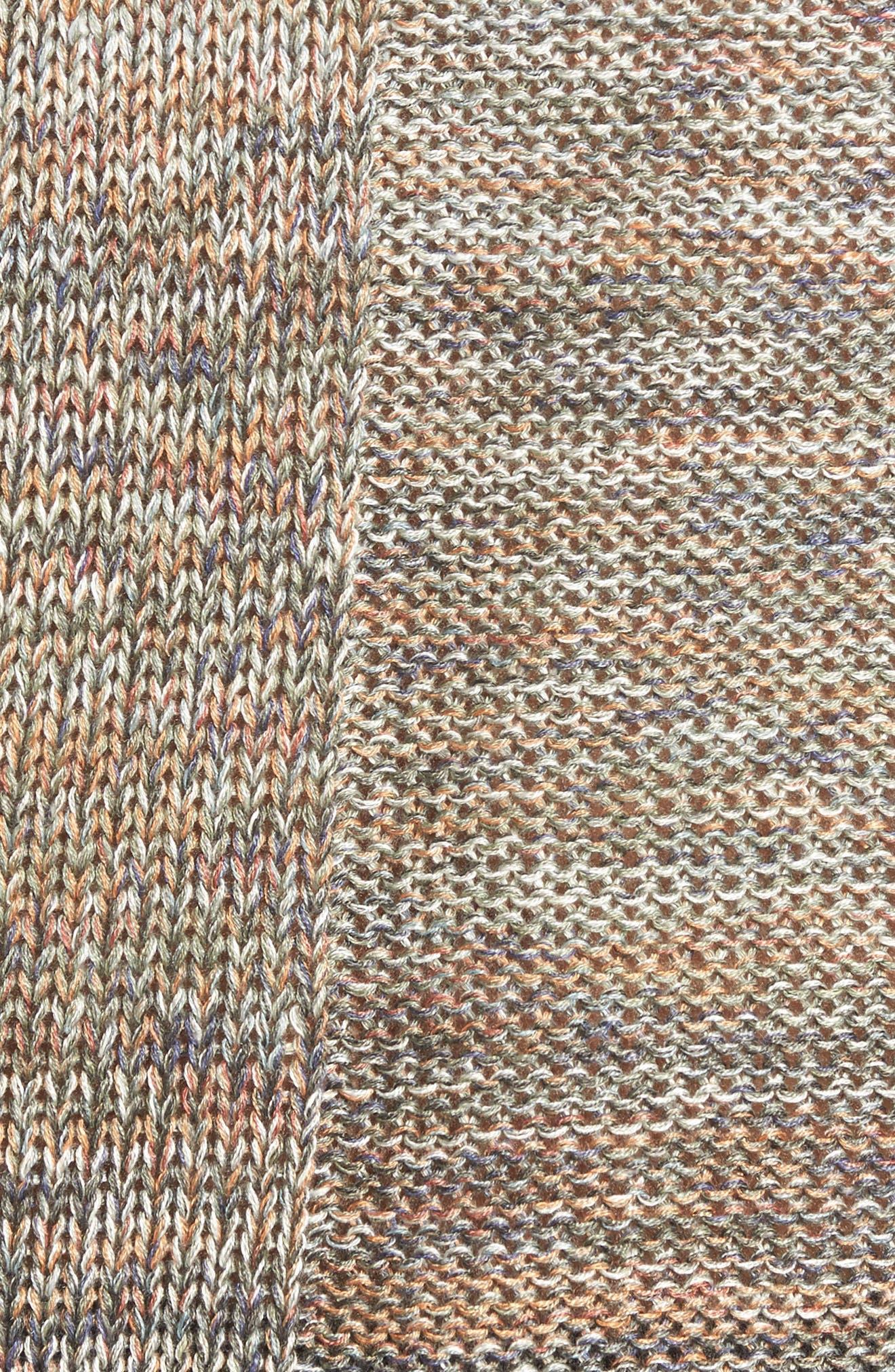 Textured Ombré Sweater,                             Alternate thumbnail 5, color,                             Multi