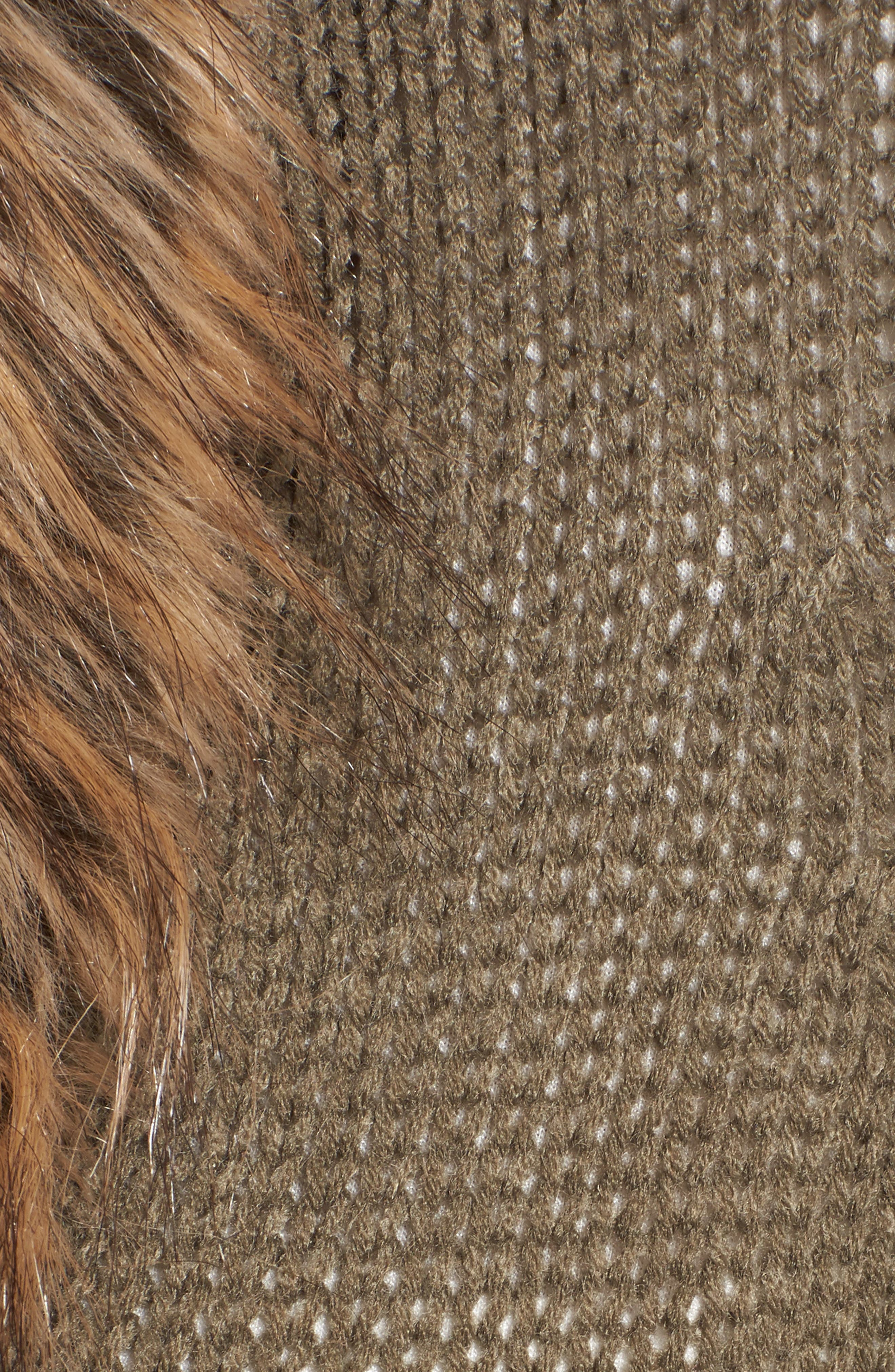 Alternate Image 5  - Show Me Your Mumu Kenn Faux Fur Trim Cardigan