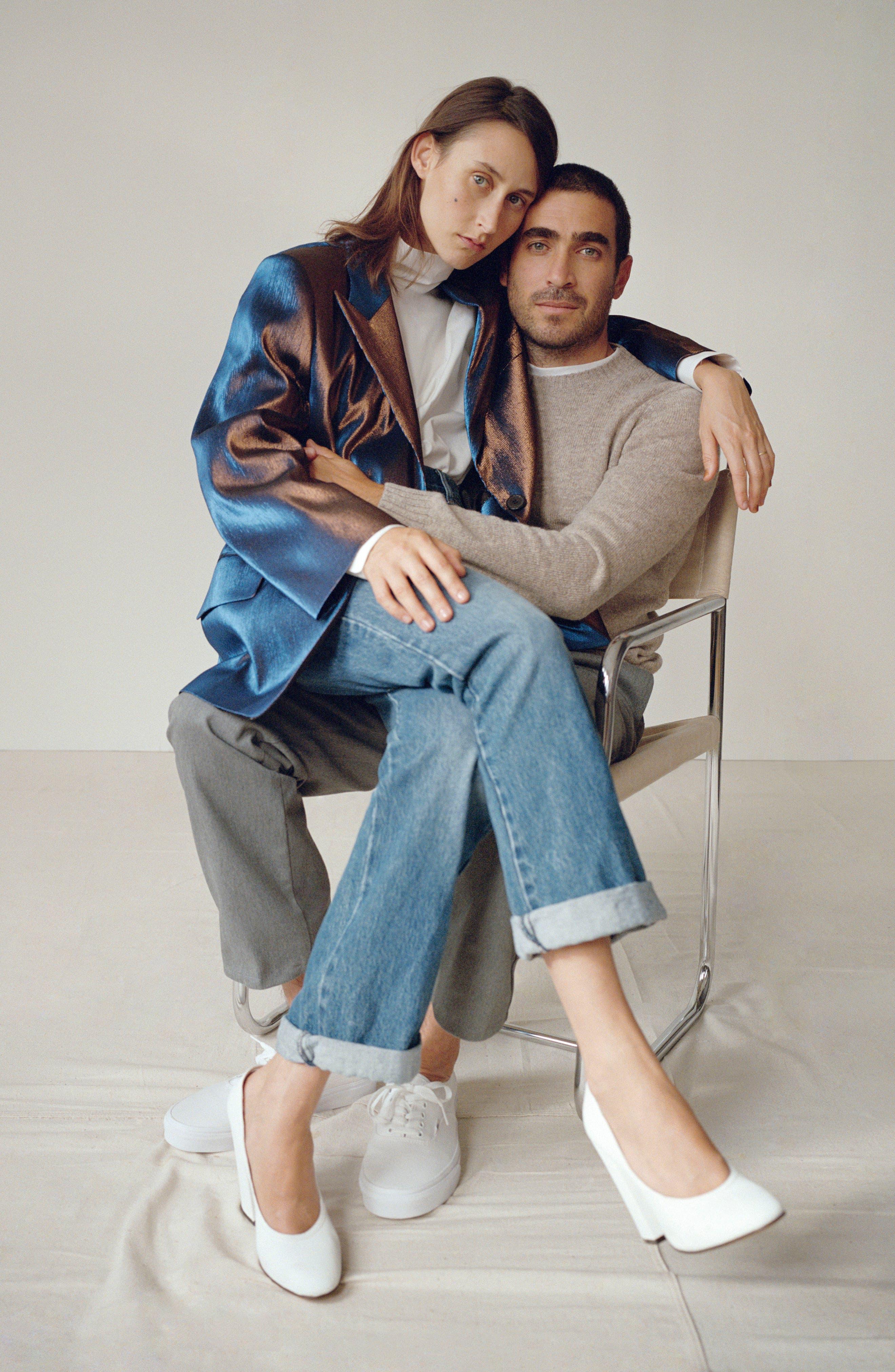 Mélange Wool Blend Trousers,                             Alternate thumbnail 5, color,