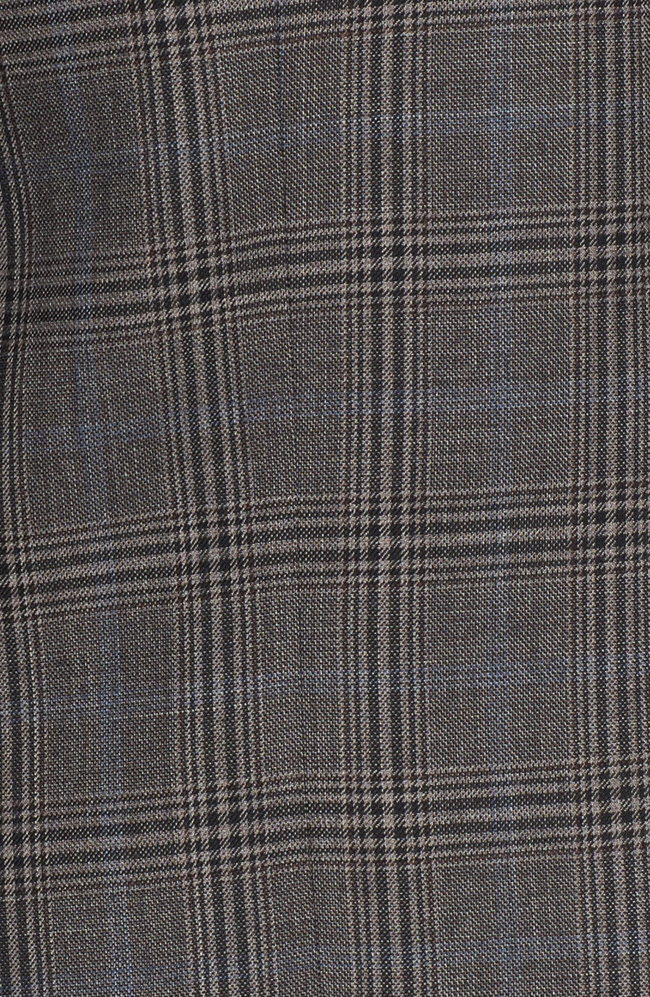 Alternate Image 5  - Hart Schaffner Marx Classic Fit Plaid Stretch Wool Sport Coat