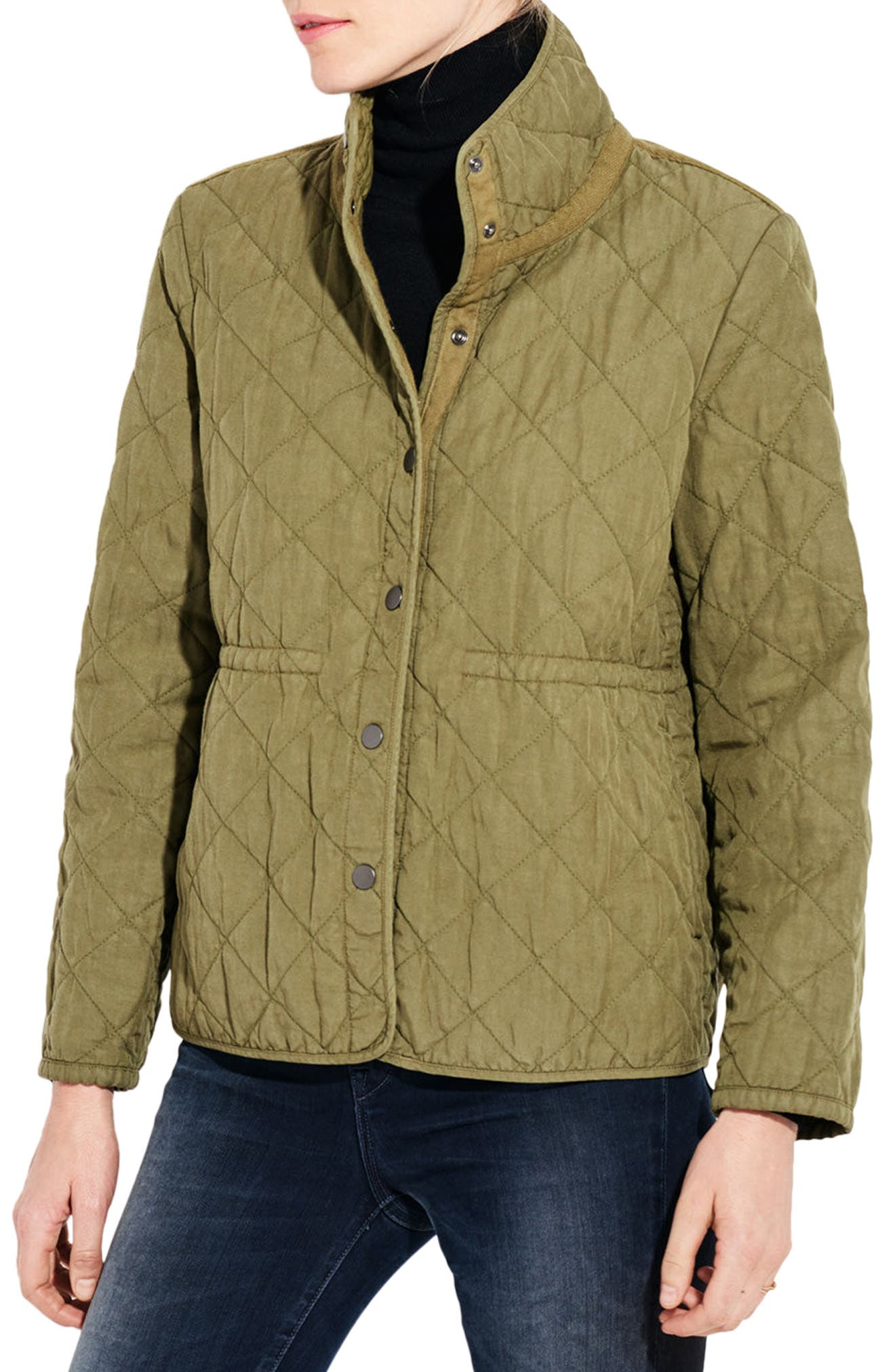 The Blast Quilted Jacket,                             Alternate thumbnail 4, color,                             Cargo Green