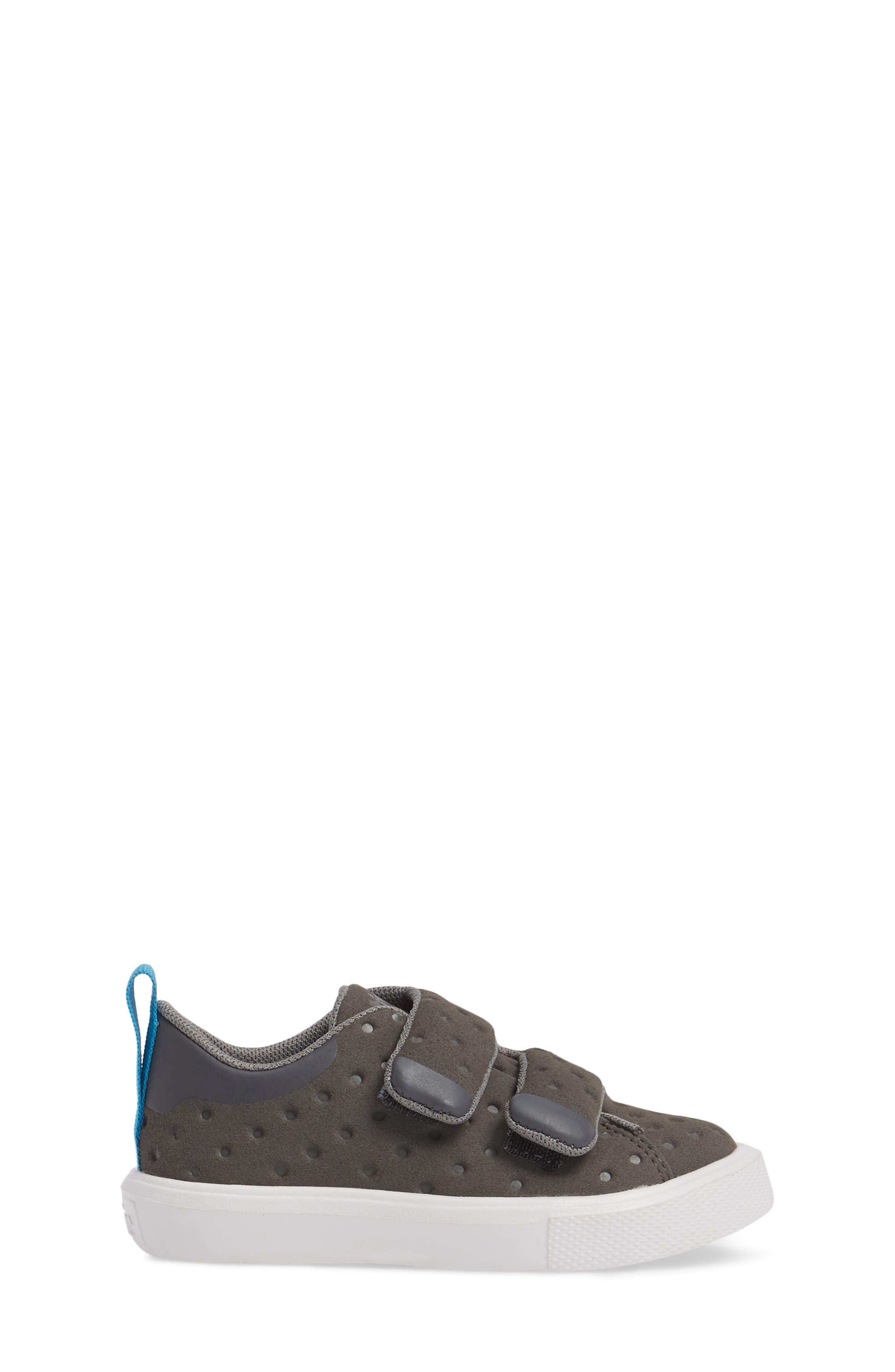 Monaco Sneaker,                             Alternate thumbnail 3, color,                             Dublin Grey/ Shell White
