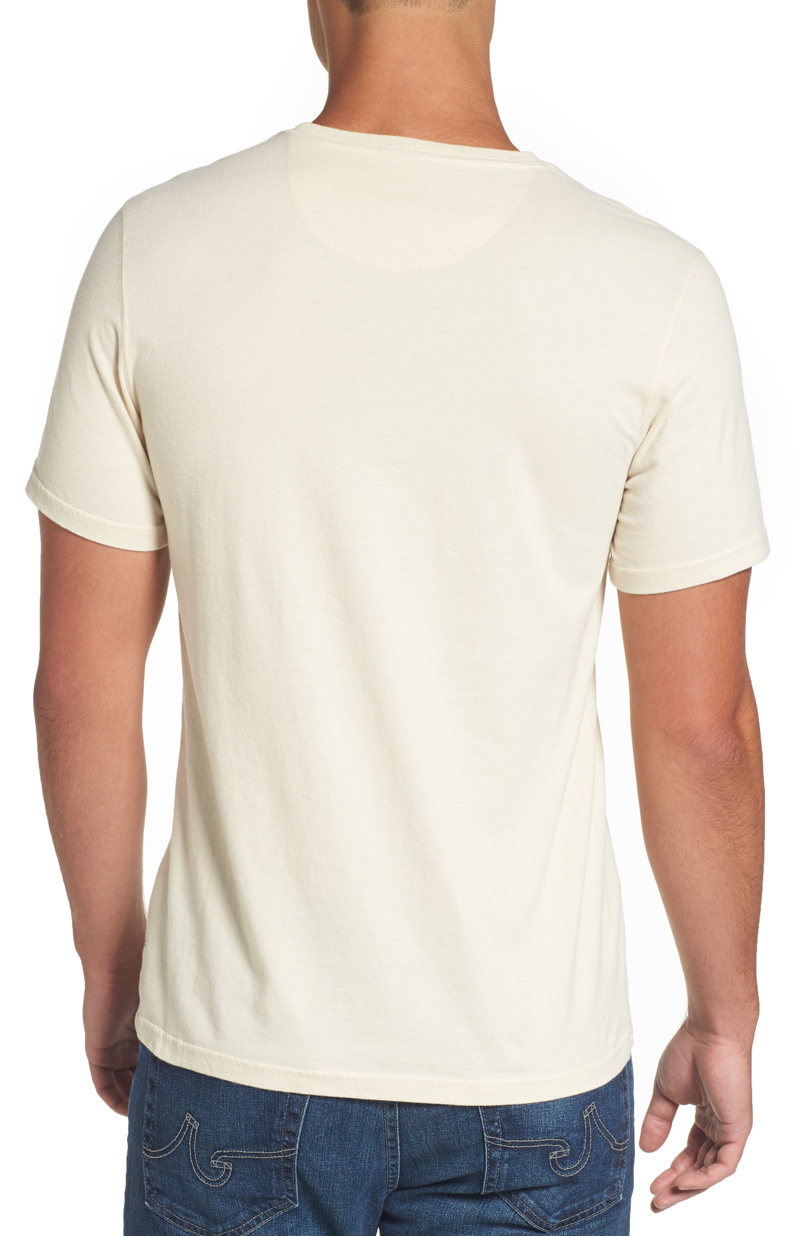 Alternate Image 2  - Barbour Blade Slim Fit Logo Graphic T-Shirt