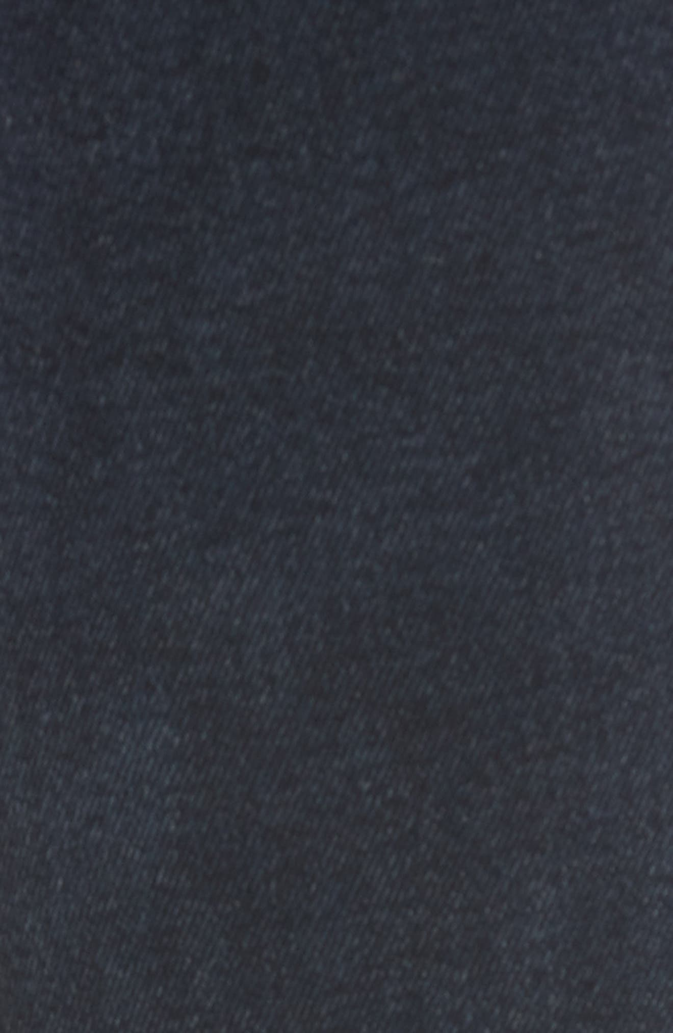 Mara Ankle Snap Straight Leg Jeans,                             Alternate thumbnail 5, color,                             Rye