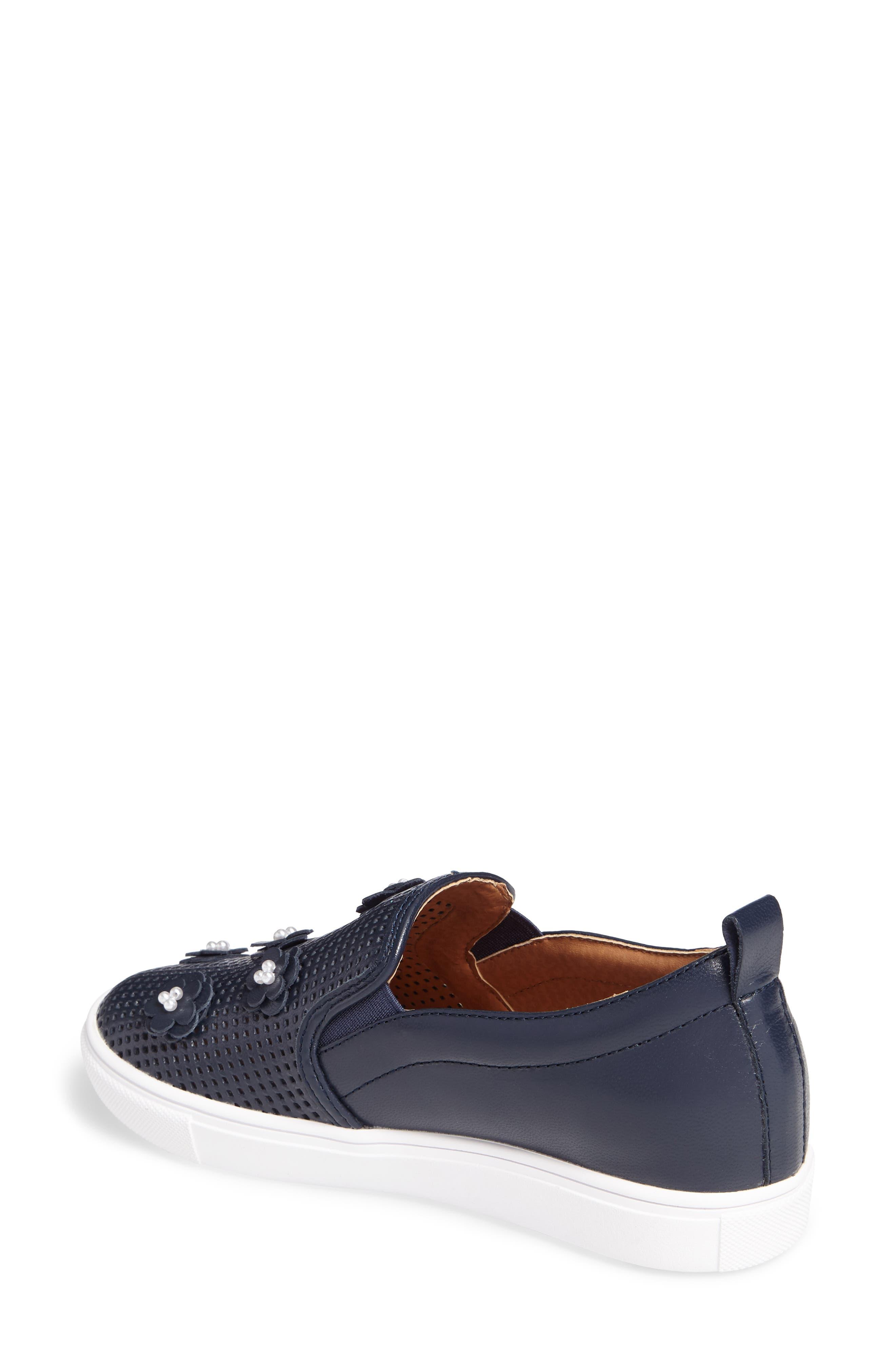 Alternate Image 2  - Caslon® Eden Perforated Slip-On Sneaker (Women)