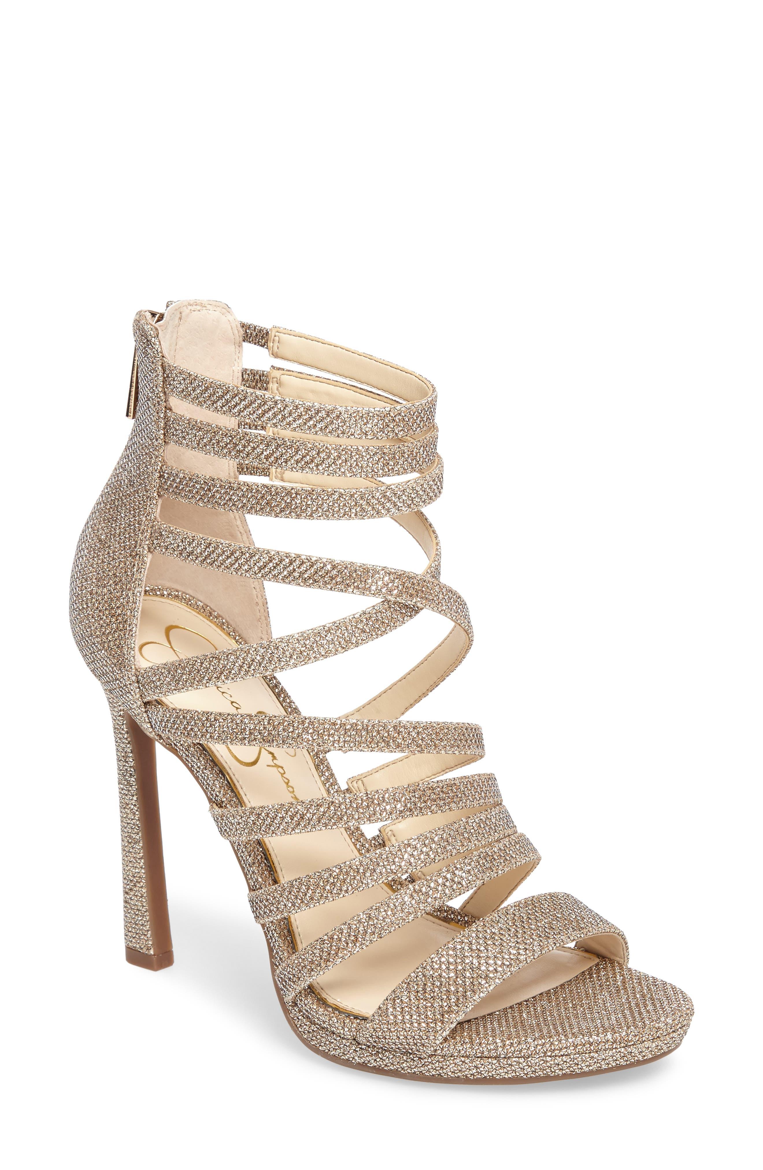 Jessica Simpson Palkaya Strappy Sandal (Women's) CJBJb