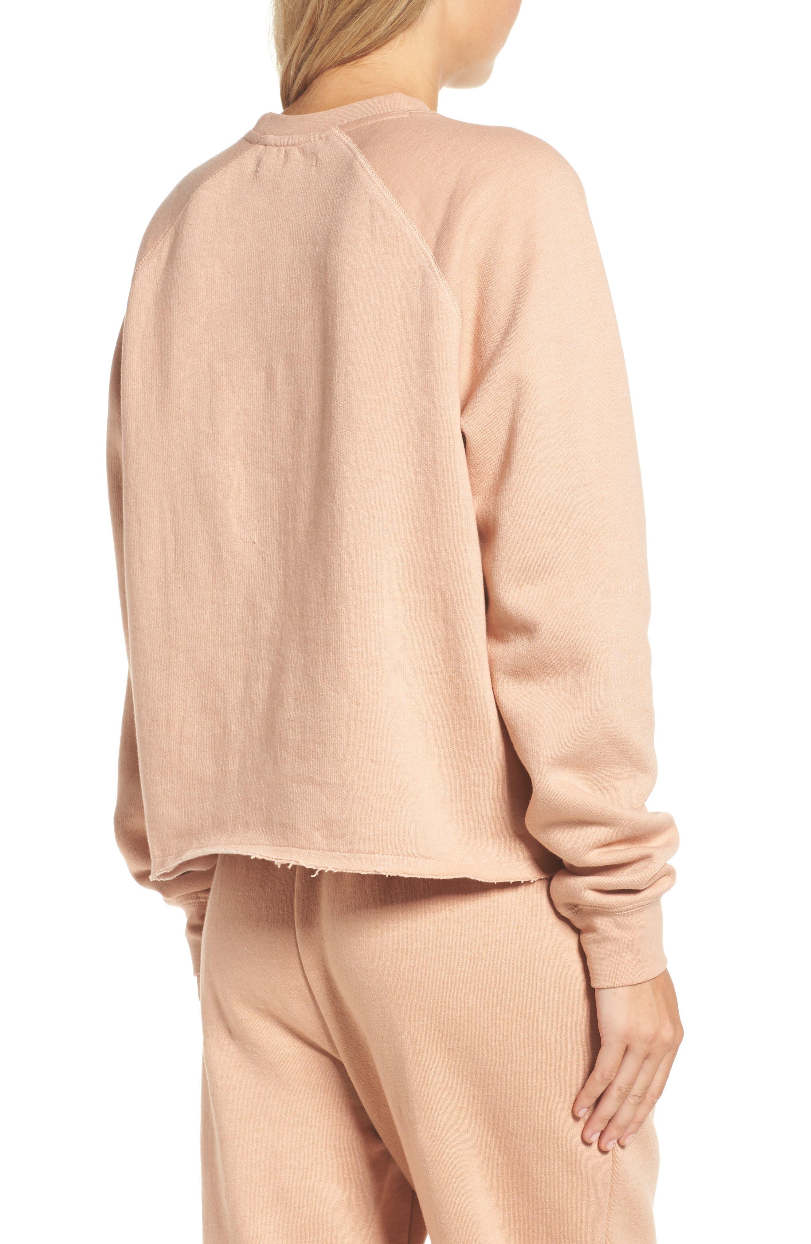 Middle Sister Blonde Sweatshirt,                             Alternate thumbnail 2, color,                             Beige