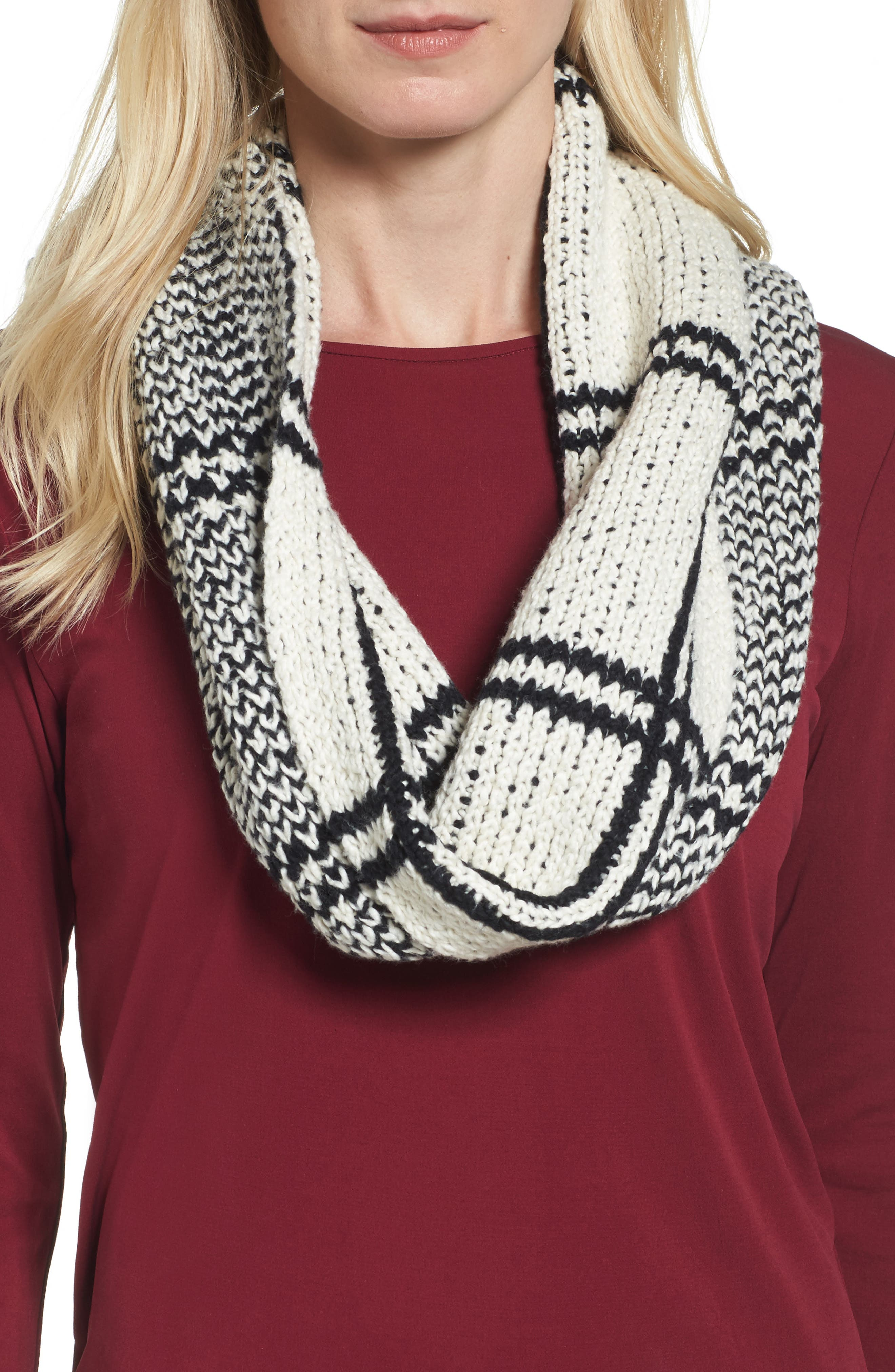 Eileen Fisher Organic Cotton Knit Infinity Scarf