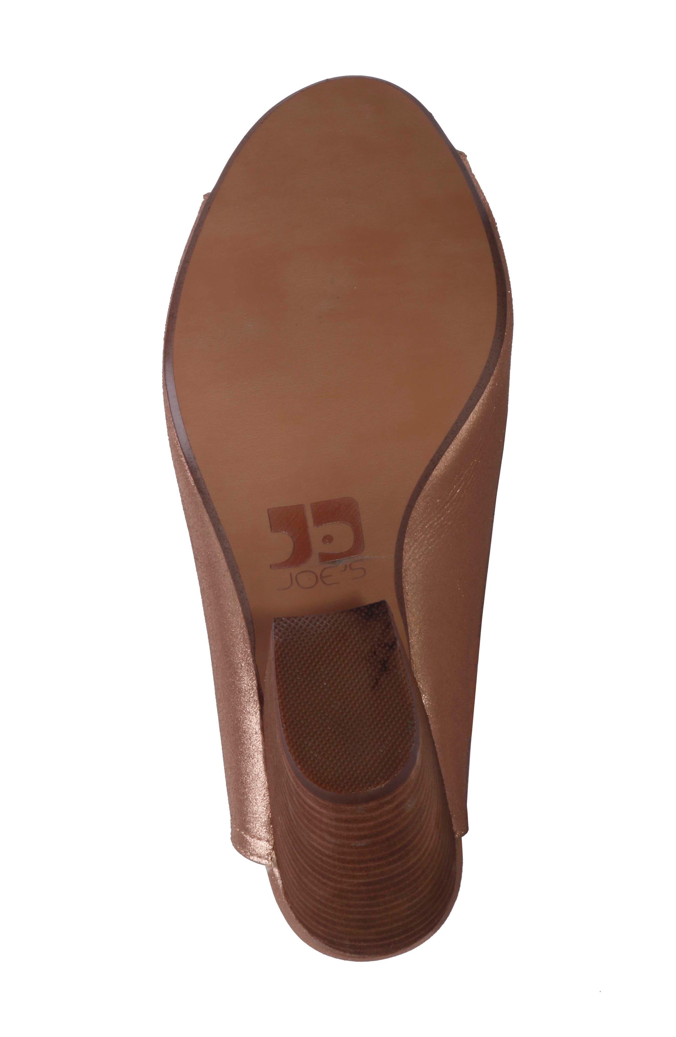 Alternate Image 5  - Joe's Honor Open Toe Mule (Women)