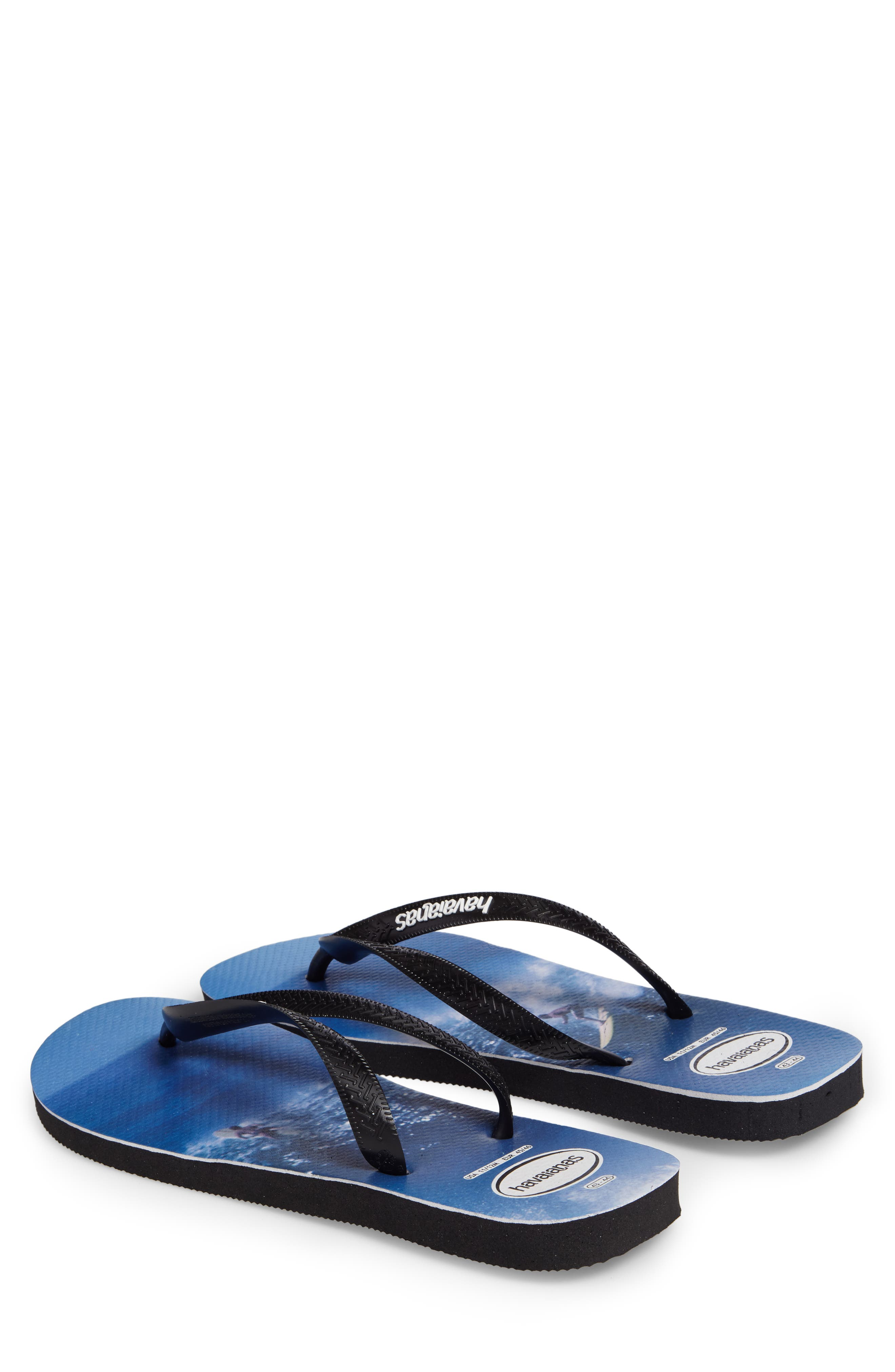 Alternate Image 2  - Havaianas Top Photo Print Flip Flop (Men)