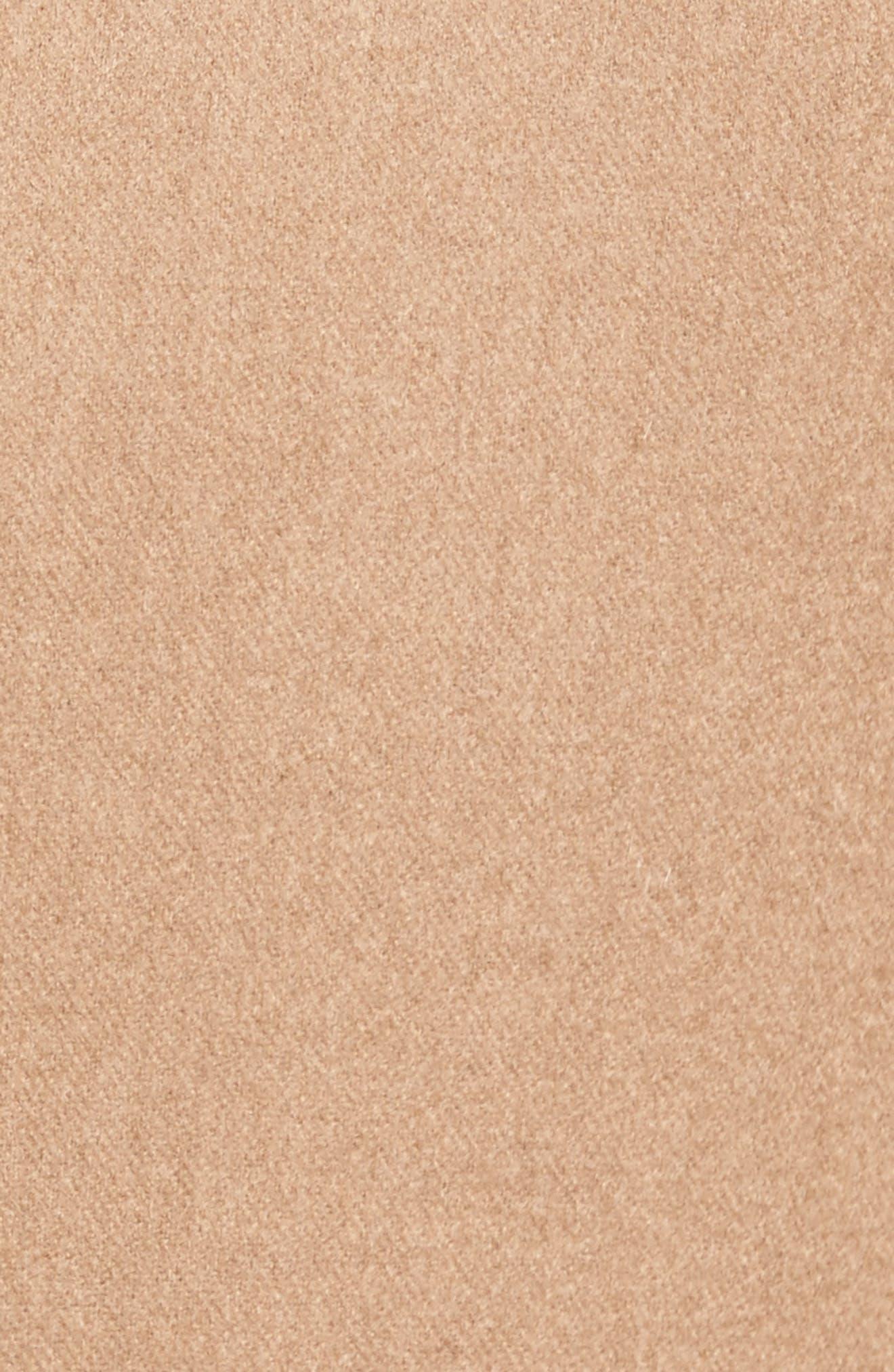 Trim Fit Camel Hair Blazer,                             Alternate thumbnail 5, color,                             Camel